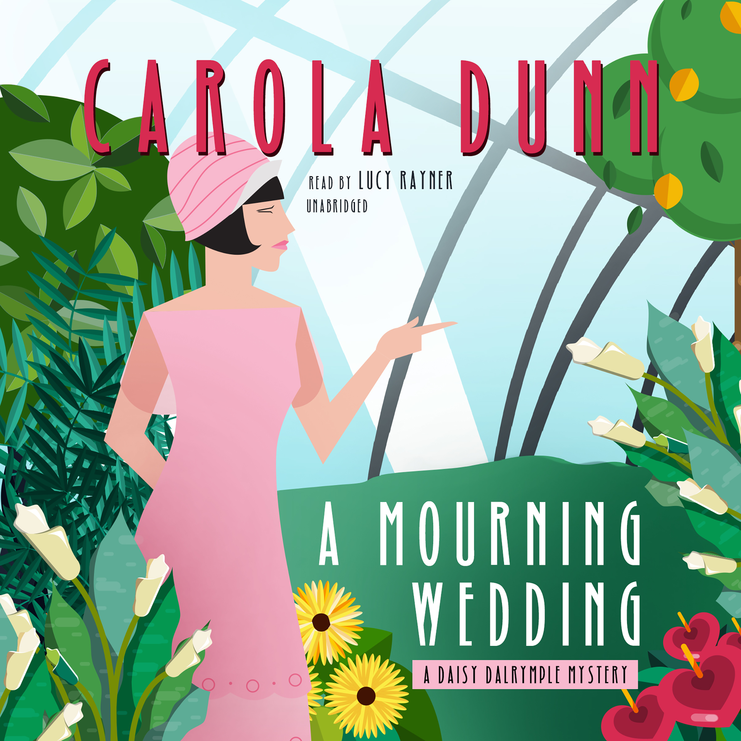 Printable A Mourning Wedding: A Daisy Dalrymple Mystery Audiobook Cover Art