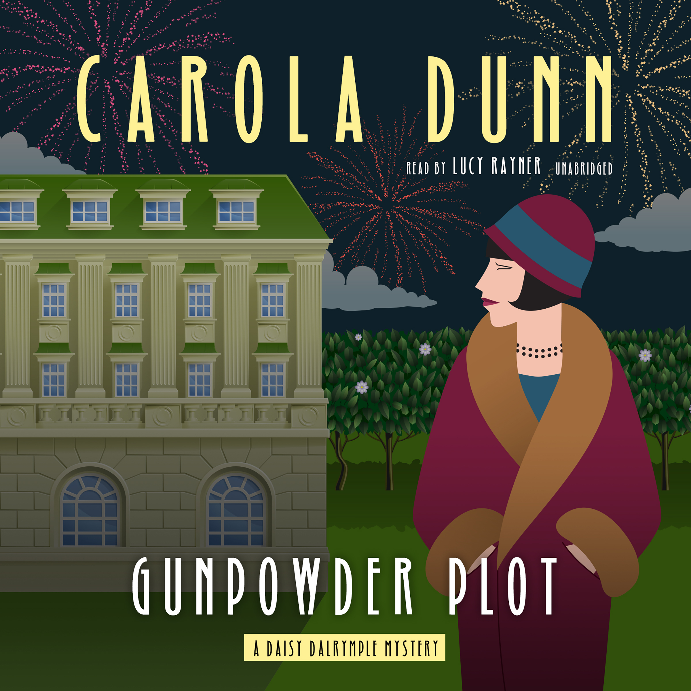 Printable Gunpowder Plot: A Daisy Dalrymple Mystery Audiobook Cover Art