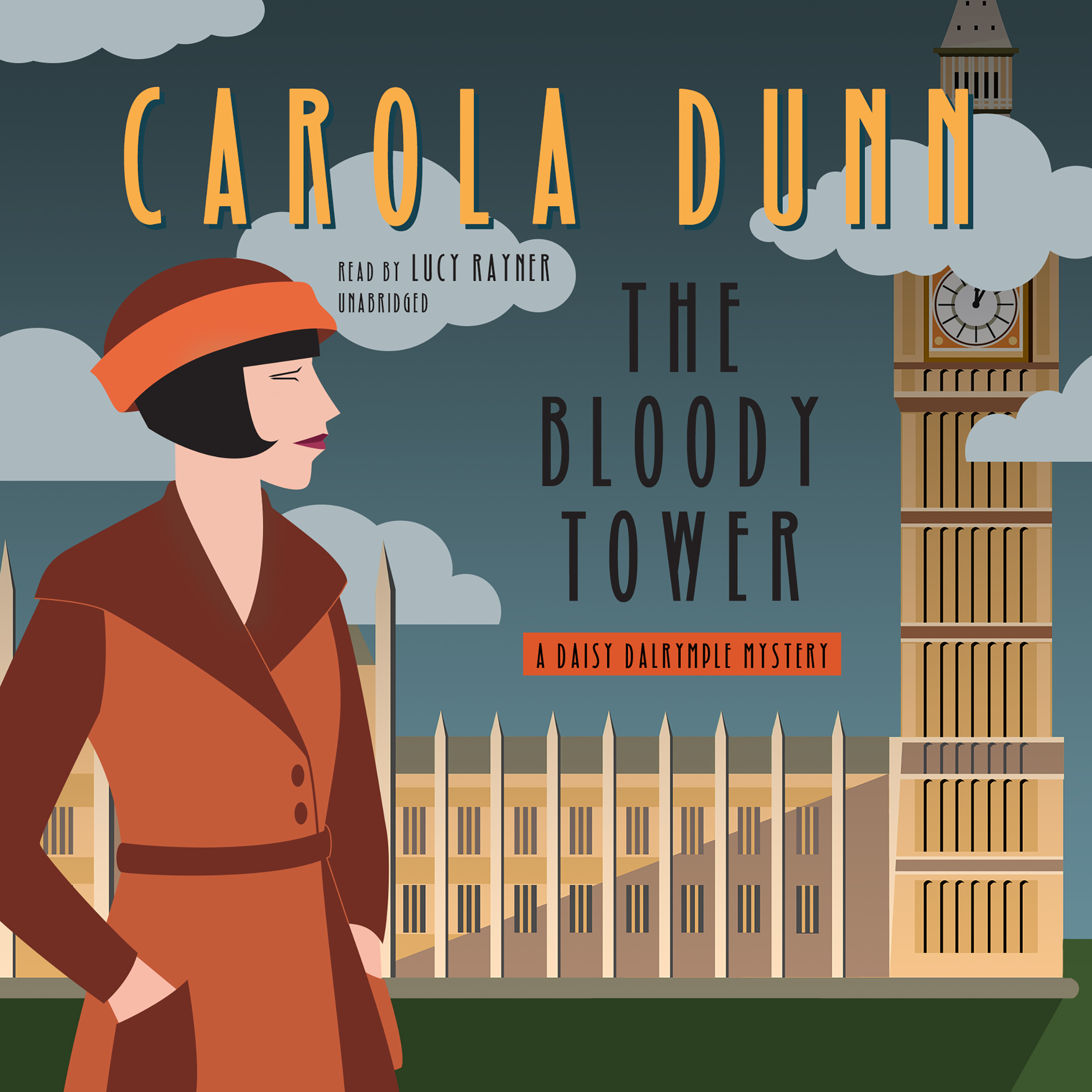 Printable The Bloody Tower: A Daisy Dalrymple Mystery Audiobook Cover Art