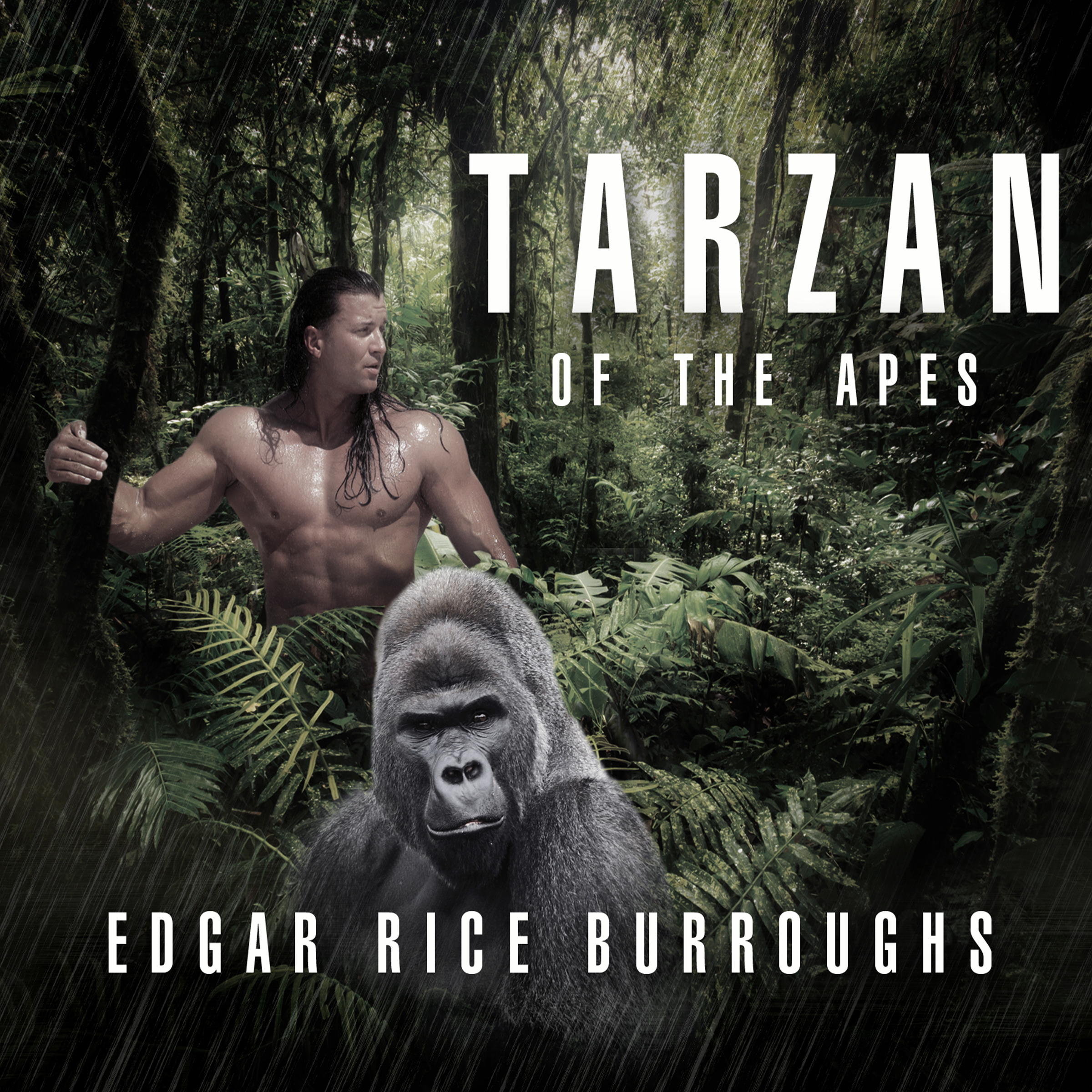 Printable Tarzan of the Apes Audiobook Cover Art