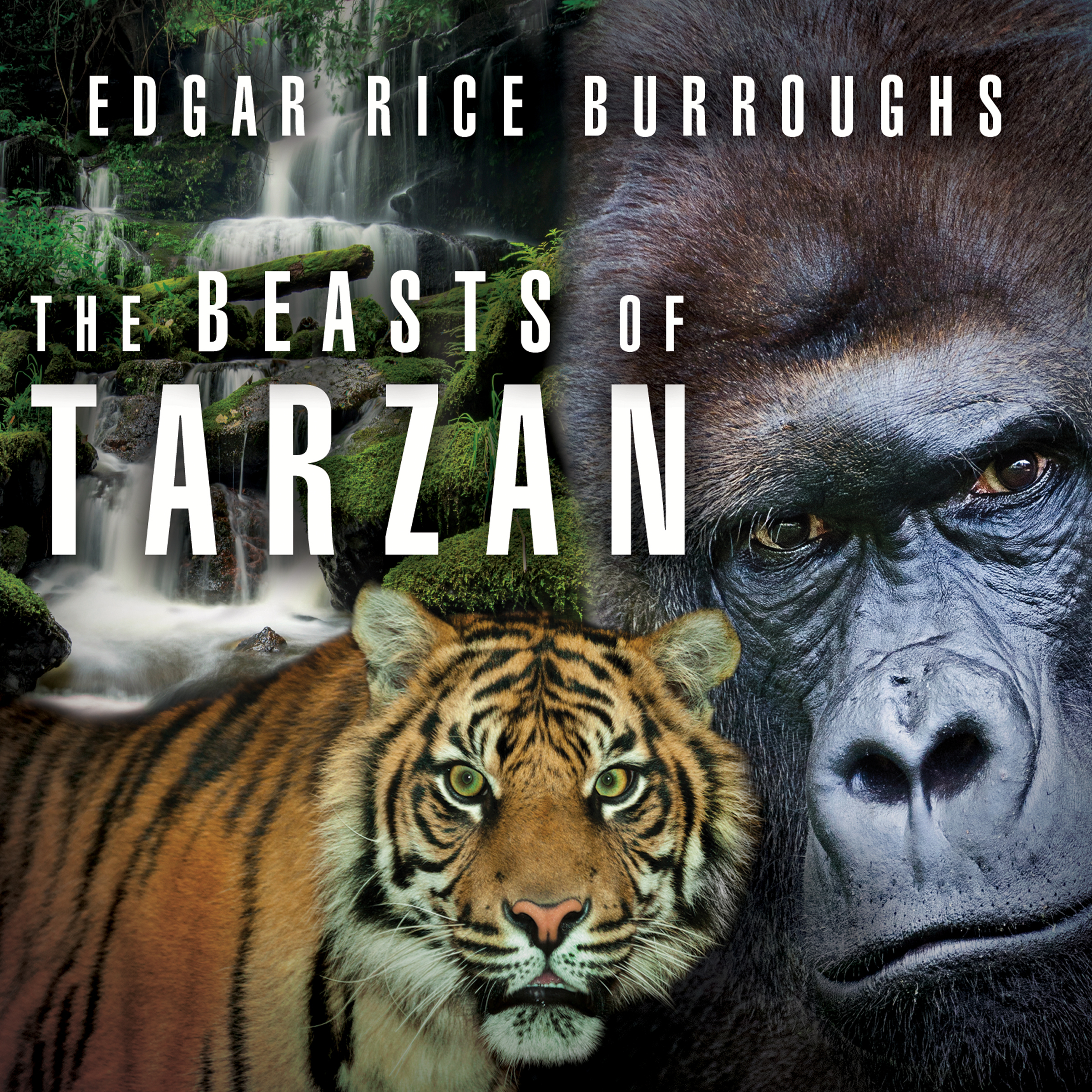 Printable The Beasts of Tarzan Audiobook Cover Art