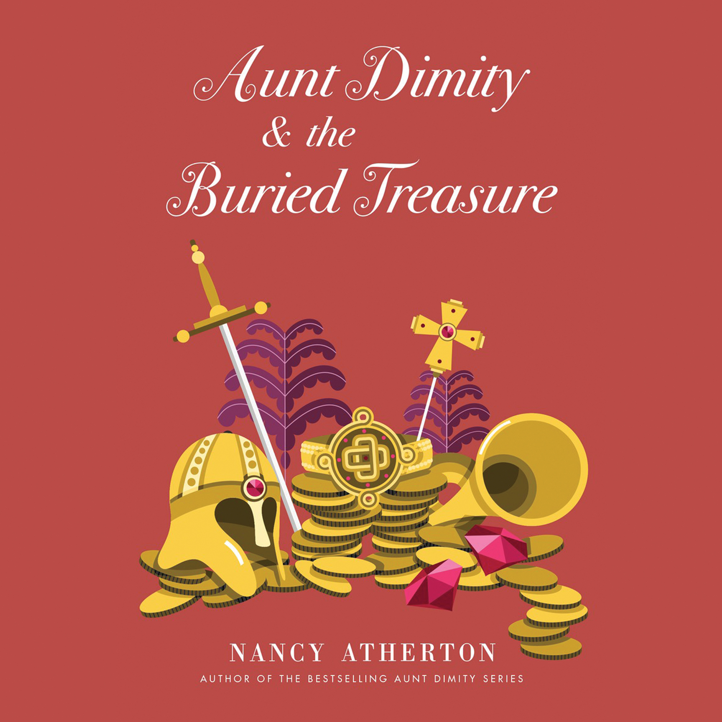 Printable Aunt Dimity and the Buried Treasure Audiobook Cover Art