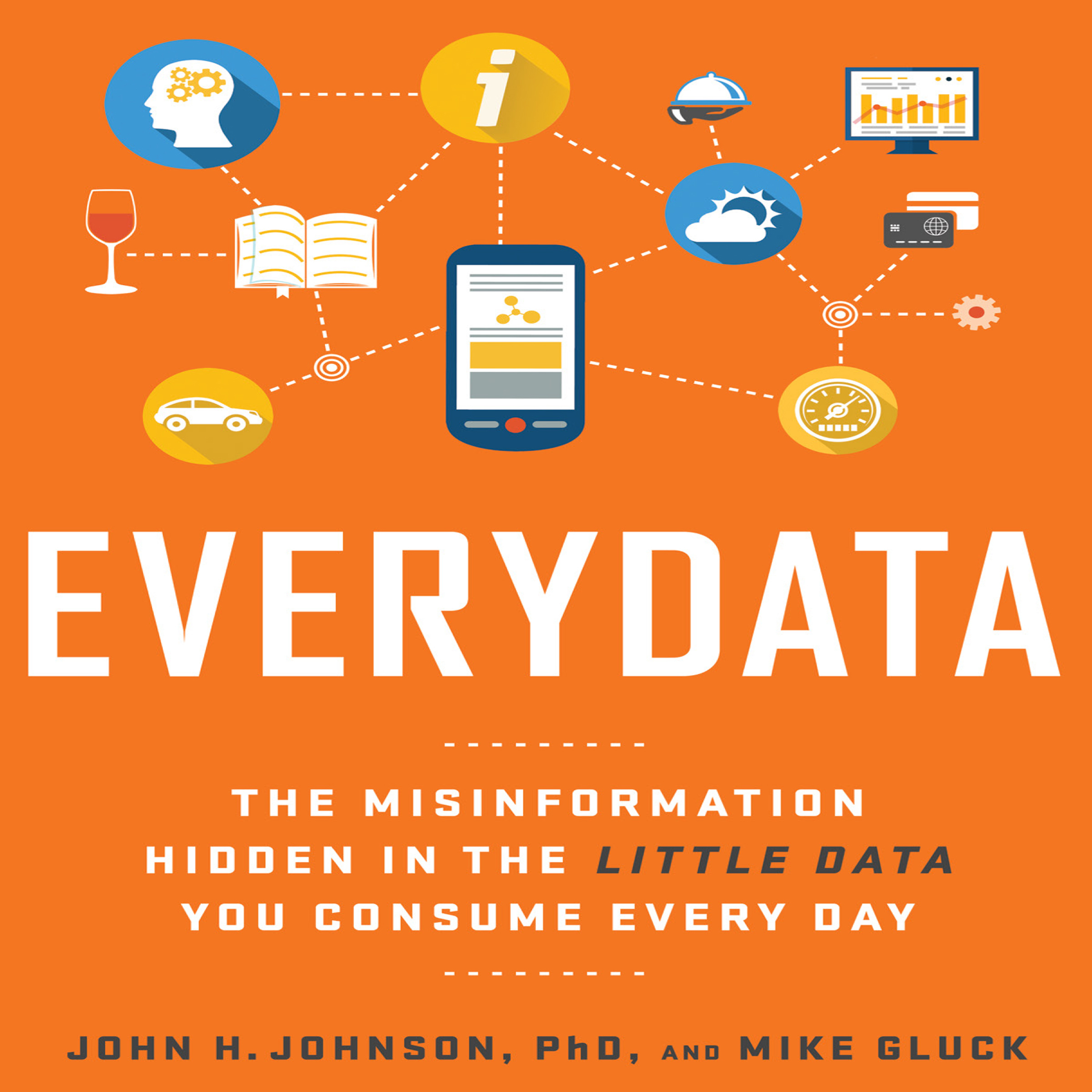 Printable Everydata: The Misinformation Hidden in the Little Data You Consume Every Day Audiobook Cover Art