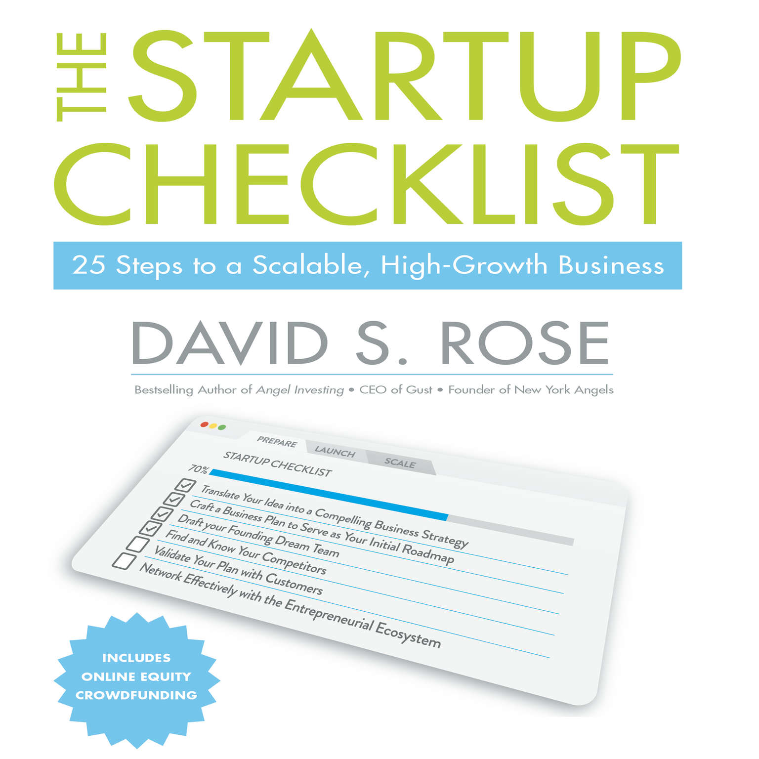 The Startup Checklist: 25 Steps to a Scalable, High-Growth Business Audiobook, by David S. Rose