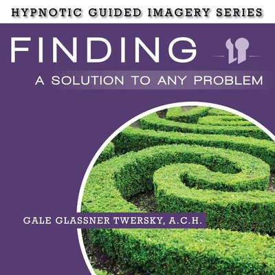 Finding a Solution to Any Problem: The Hypnotic Guided Imagery Series Audiobook, by