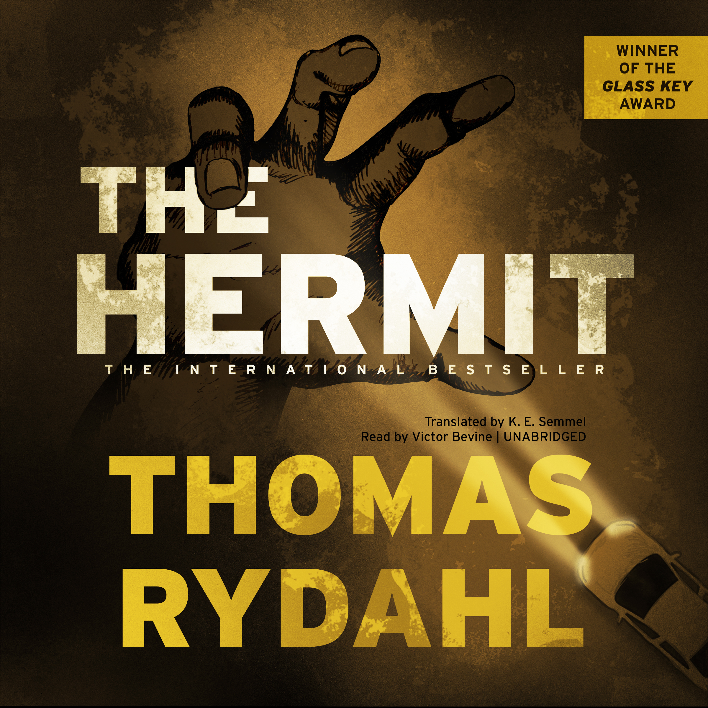 Printable The Hermit Audiobook Cover Art