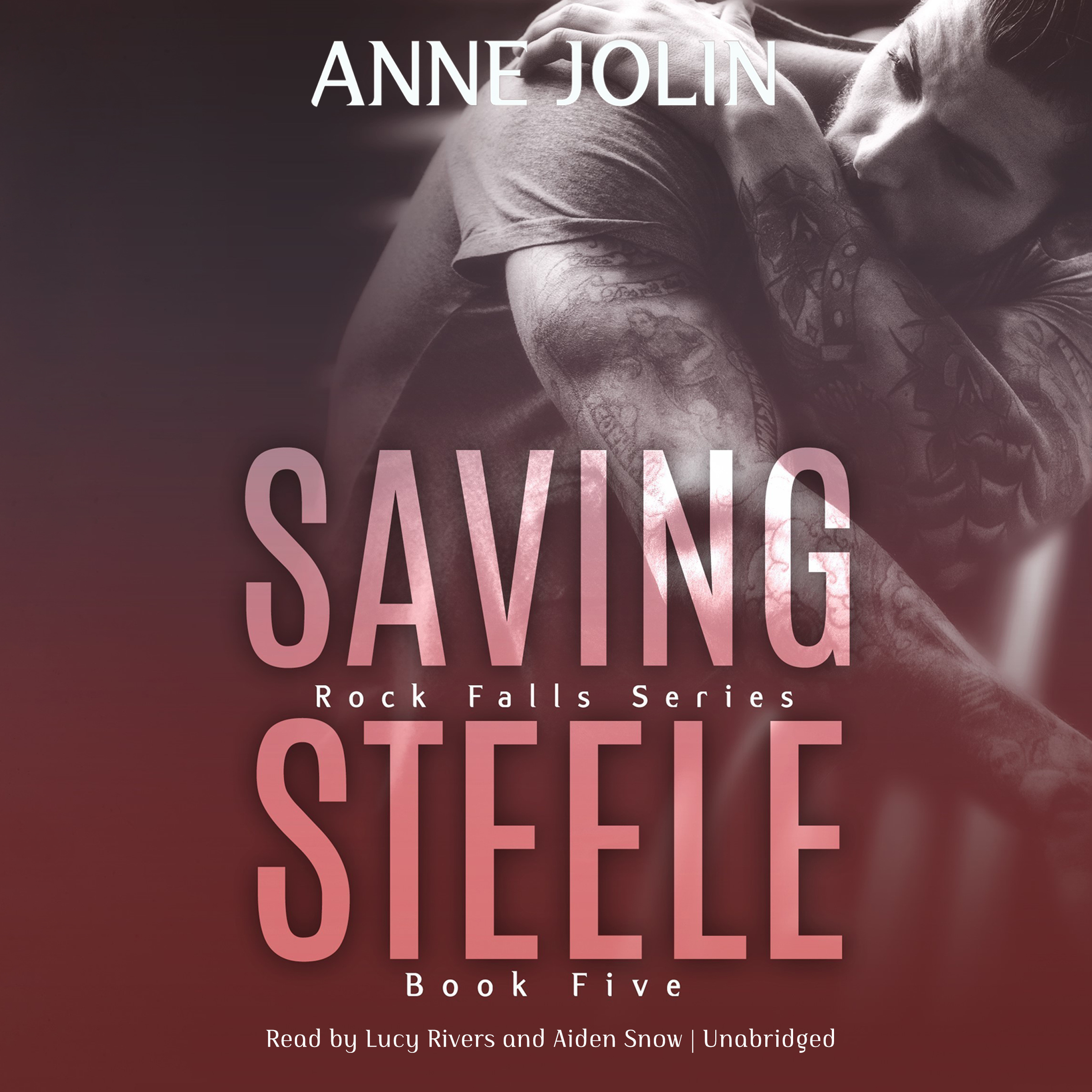 Printable Saving Steele Audiobook Cover Art