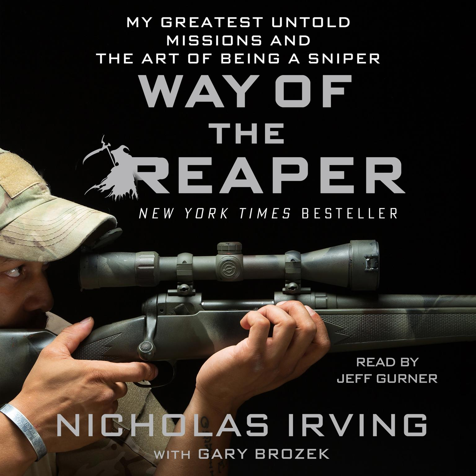 Printable Way of the Reaper: My Greatest Untold Missions and the Art of Being a Sniper Audiobook Cover Art