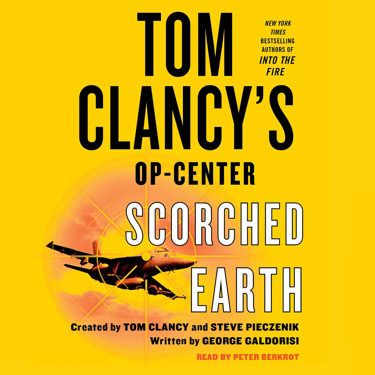 Printable Tom Clancy's Op-Center: Scorched Earth: Scorched Earth Audiobook Cover Art