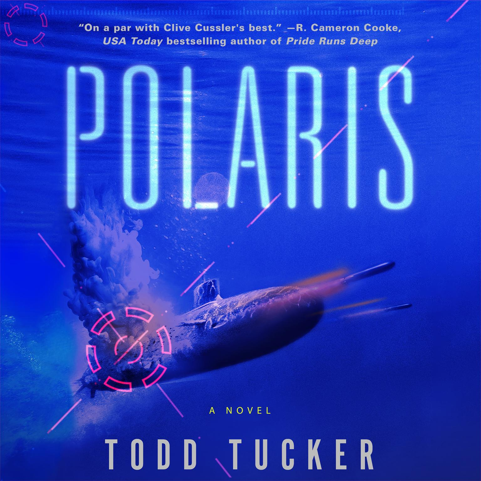 Printable Polaris: A Novel Audiobook Cover Art