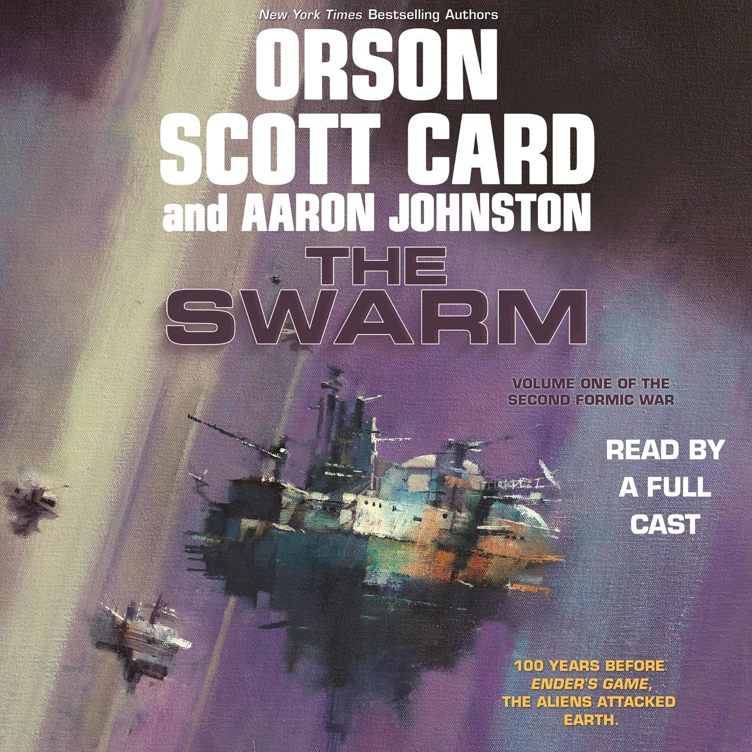 Printable The Swarm: Volume One of The Second Formic War Audiobook Cover Art