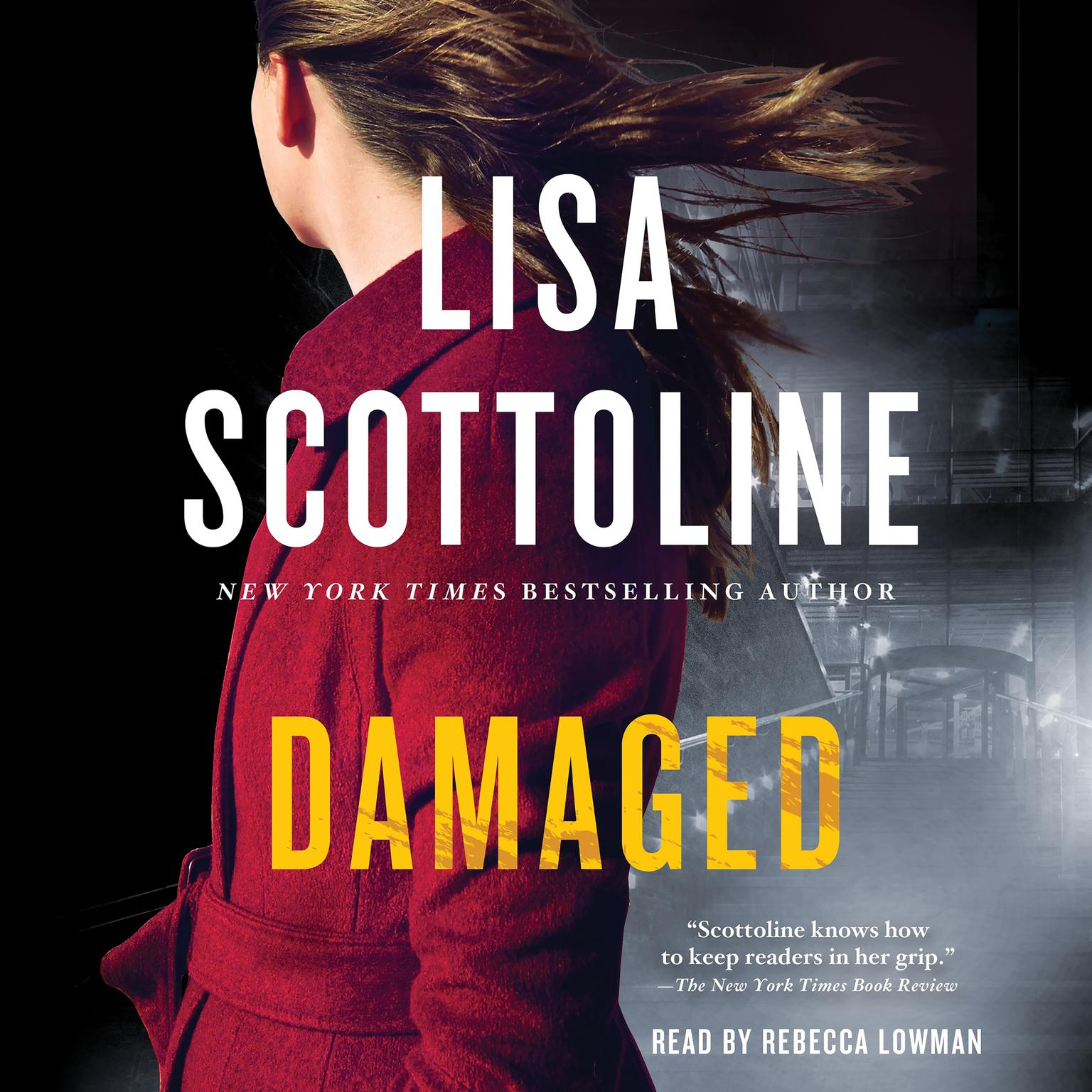 Printable Damaged: A Rosato & DiNunzio Novel Audiobook Cover Art