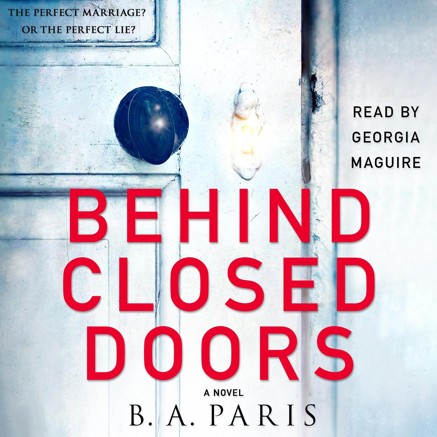 Printable Behind Closed Doors: A Novel Audiobook Cover Art