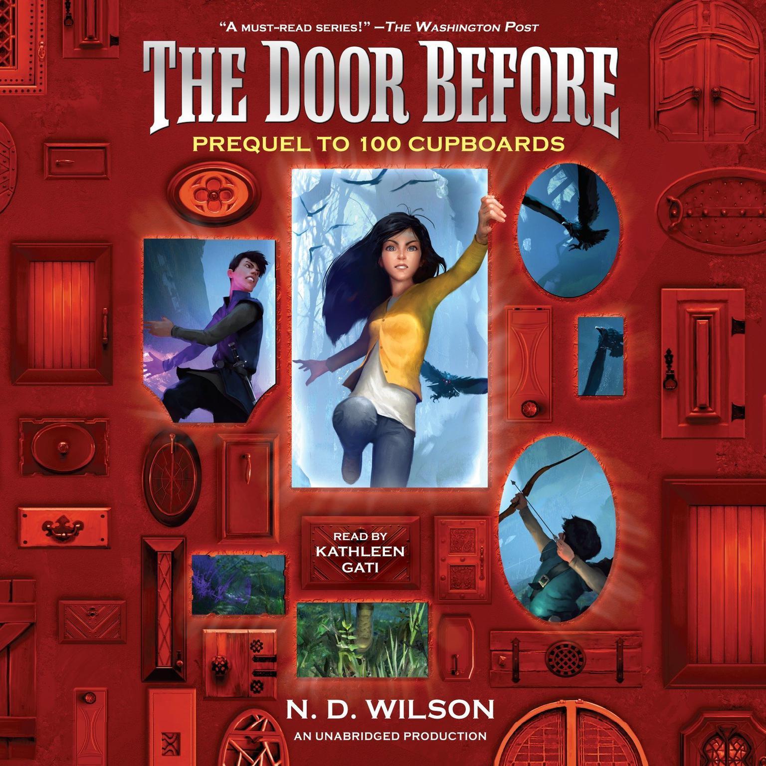 Printable The Door Before (100 Cupboards Prequel) Audiobook Cover Art