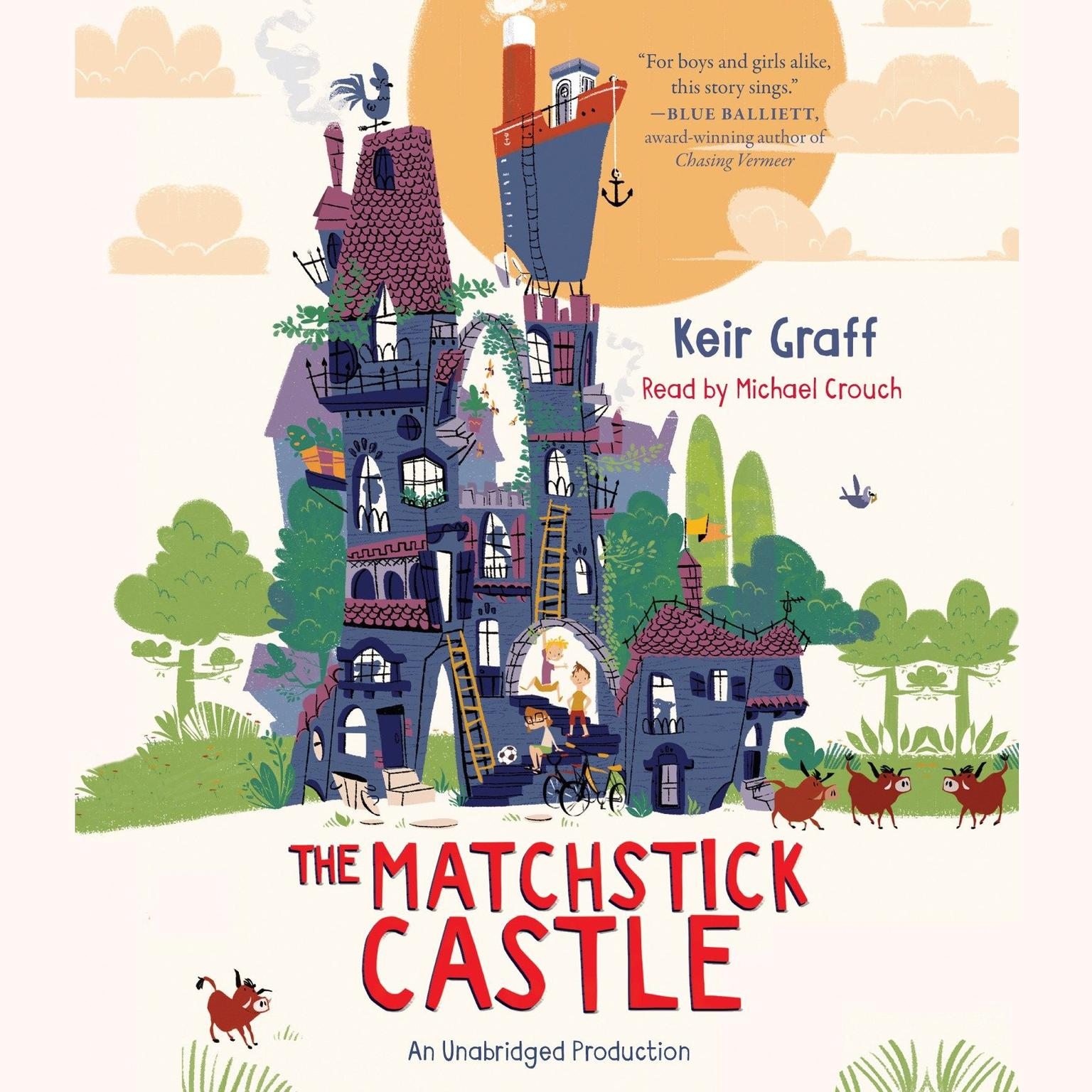 Printable The Matchstick Castle Audiobook Cover Art