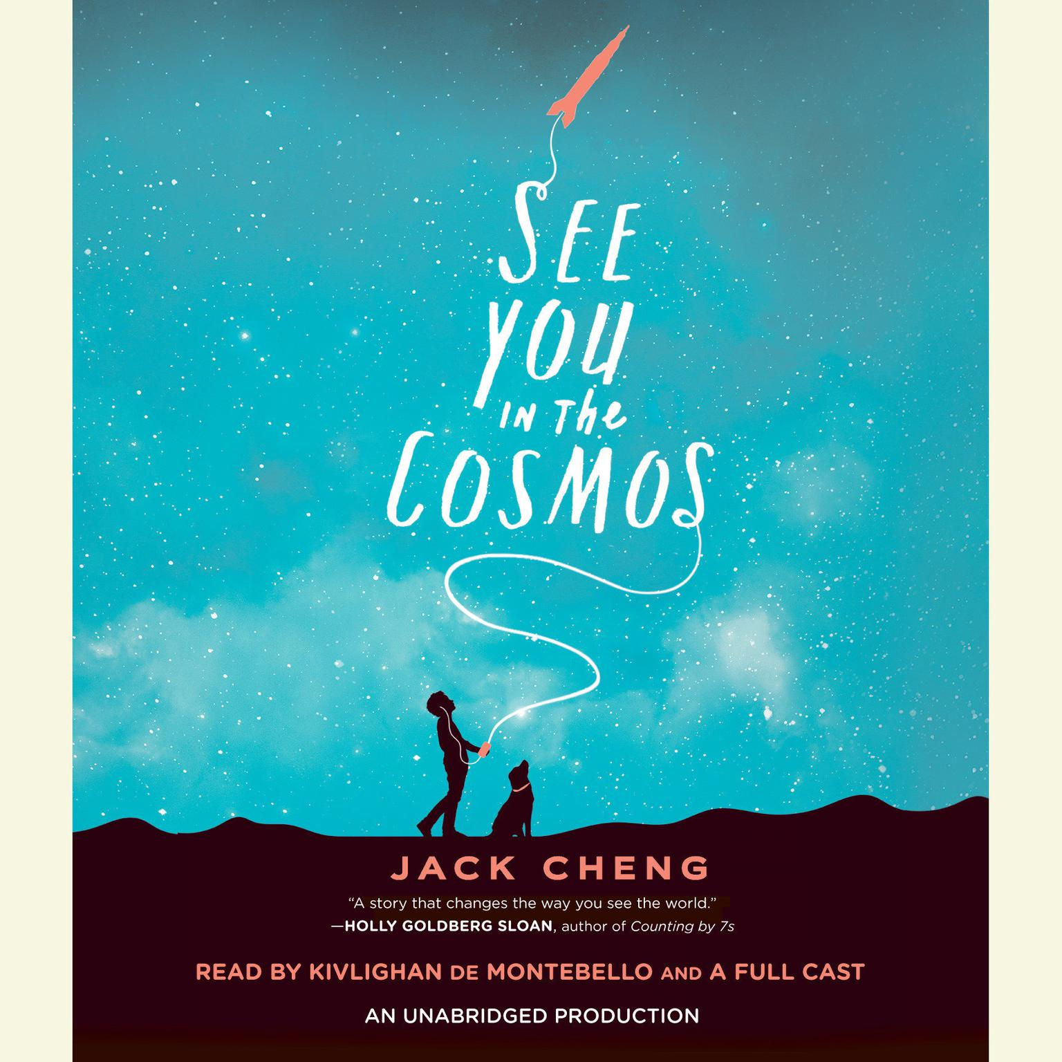 Printable See You in the Cosmos Audiobook Cover Art