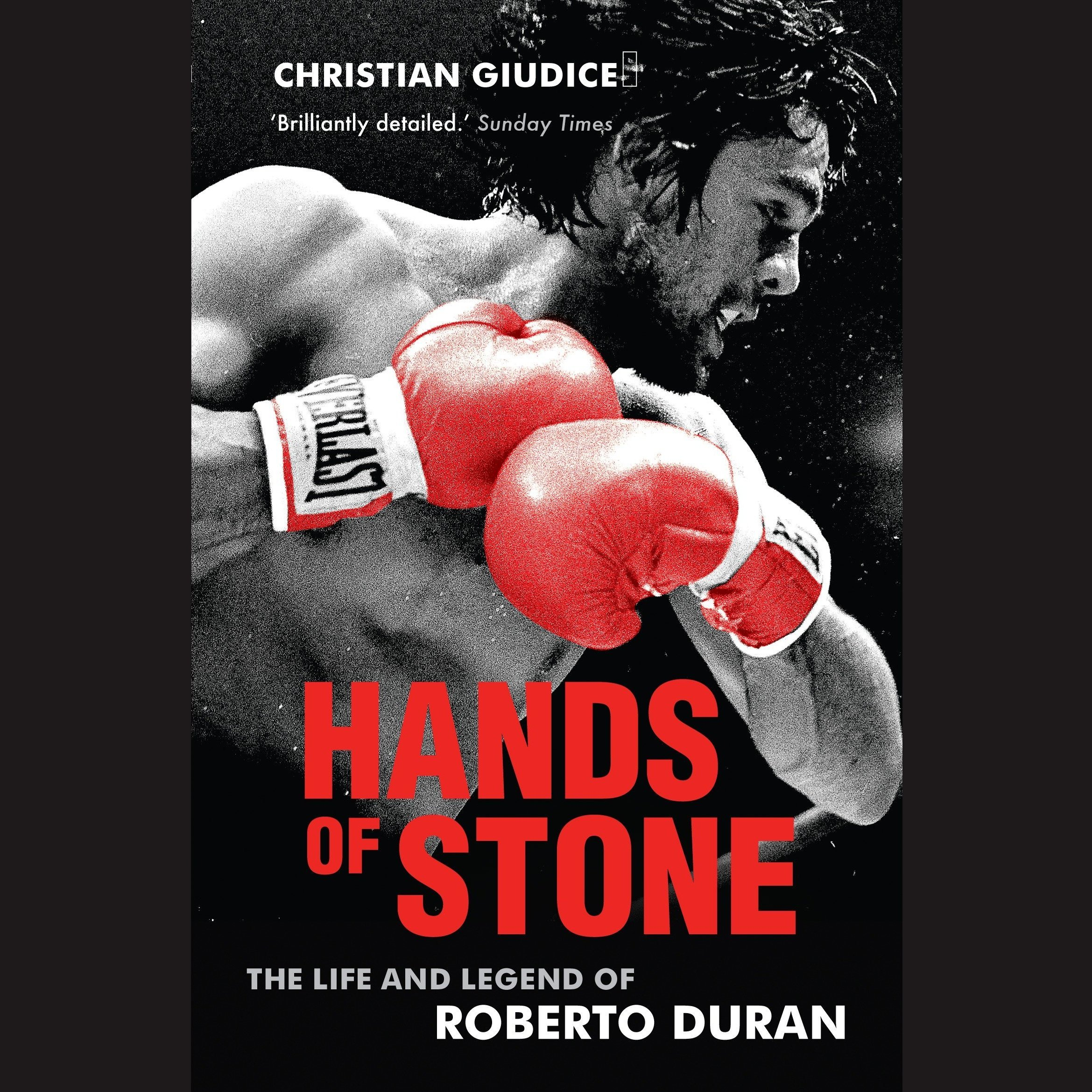 Printable Hands of Stone: The Life and Legend of Roberto Duran Audiobook Cover Art