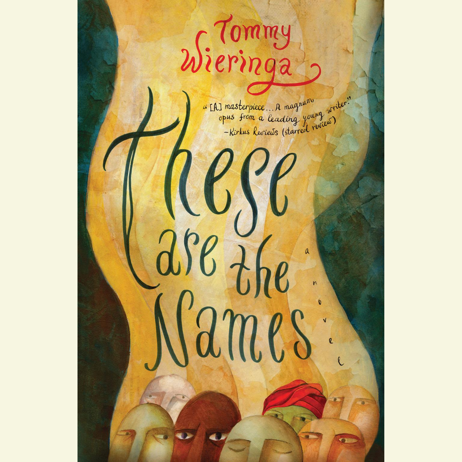 Printable These Are the Names Audiobook Cover Art
