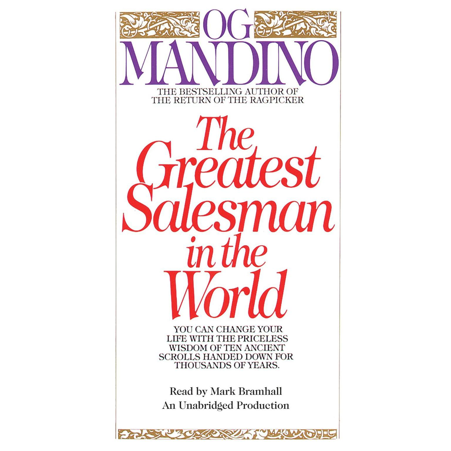 Printable The Greatest Salesman in the World Audiobook Cover Art