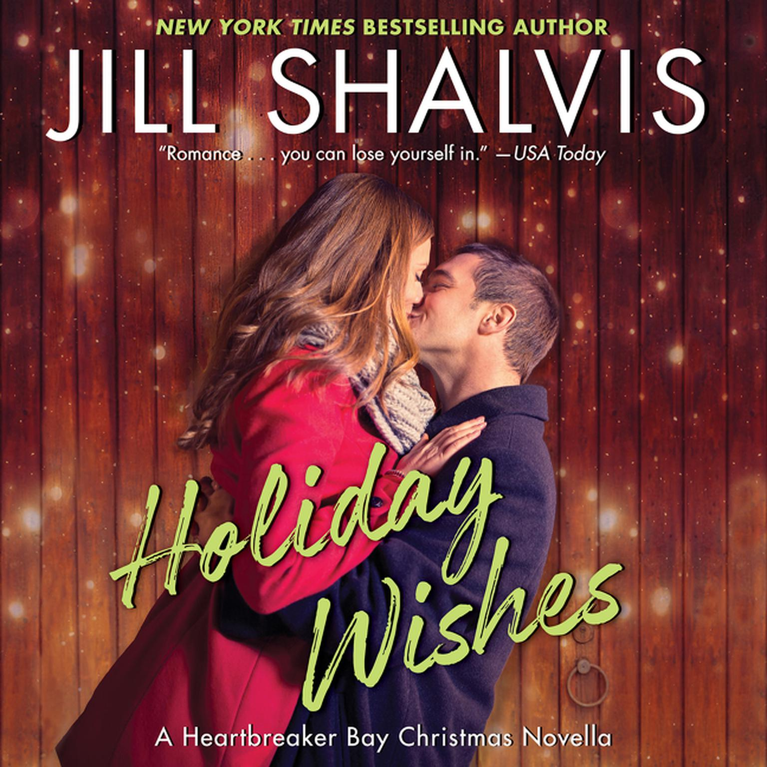 Printable Holiday Wishes: A Heartbreaker Bay Christmas Novella Audiobook Cover Art