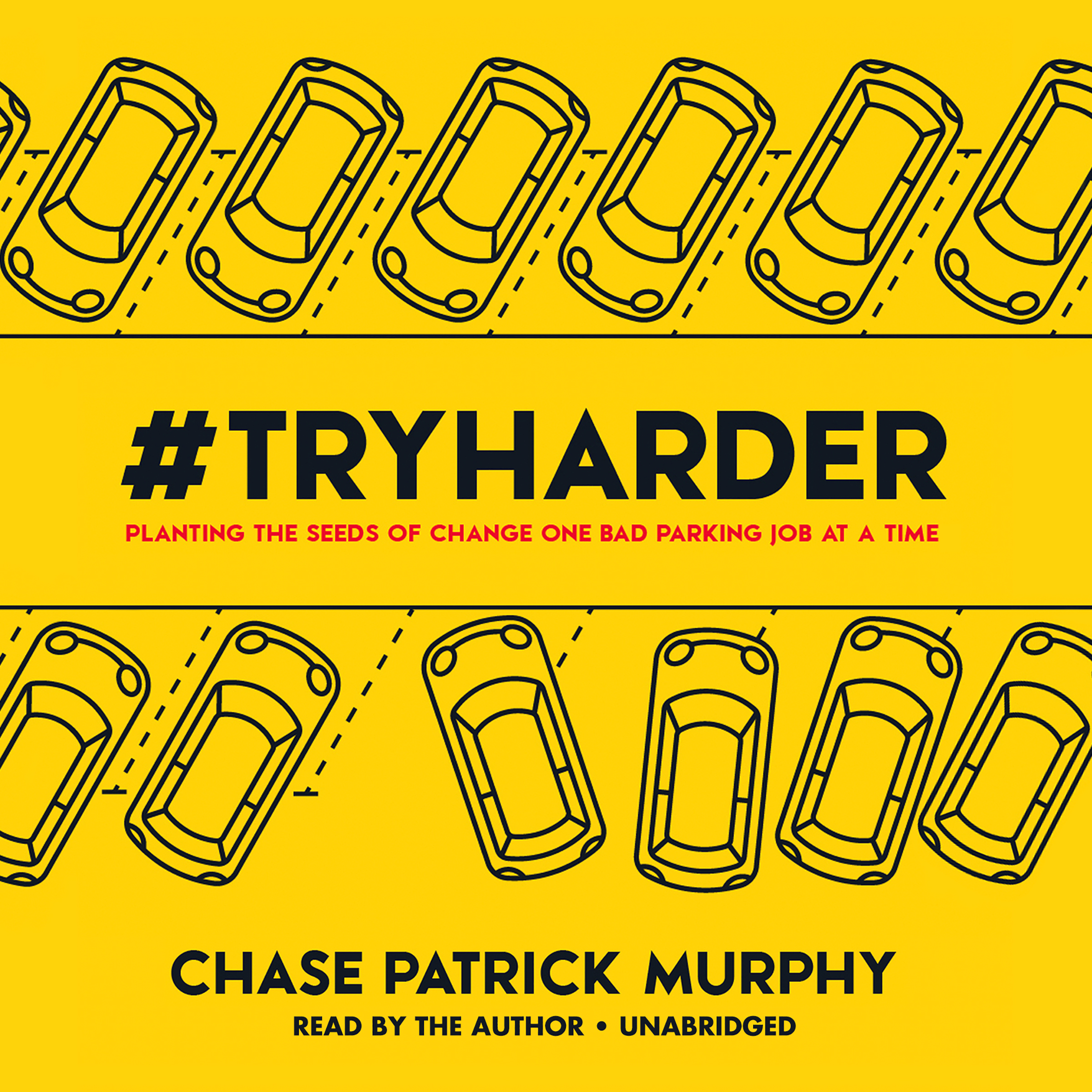 Printable #TryHarder Audiobook Cover Art
