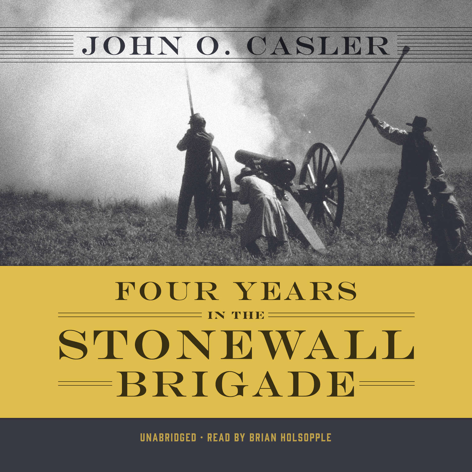 Printable Four Years in the Stonewall Brigade Audiobook Cover Art