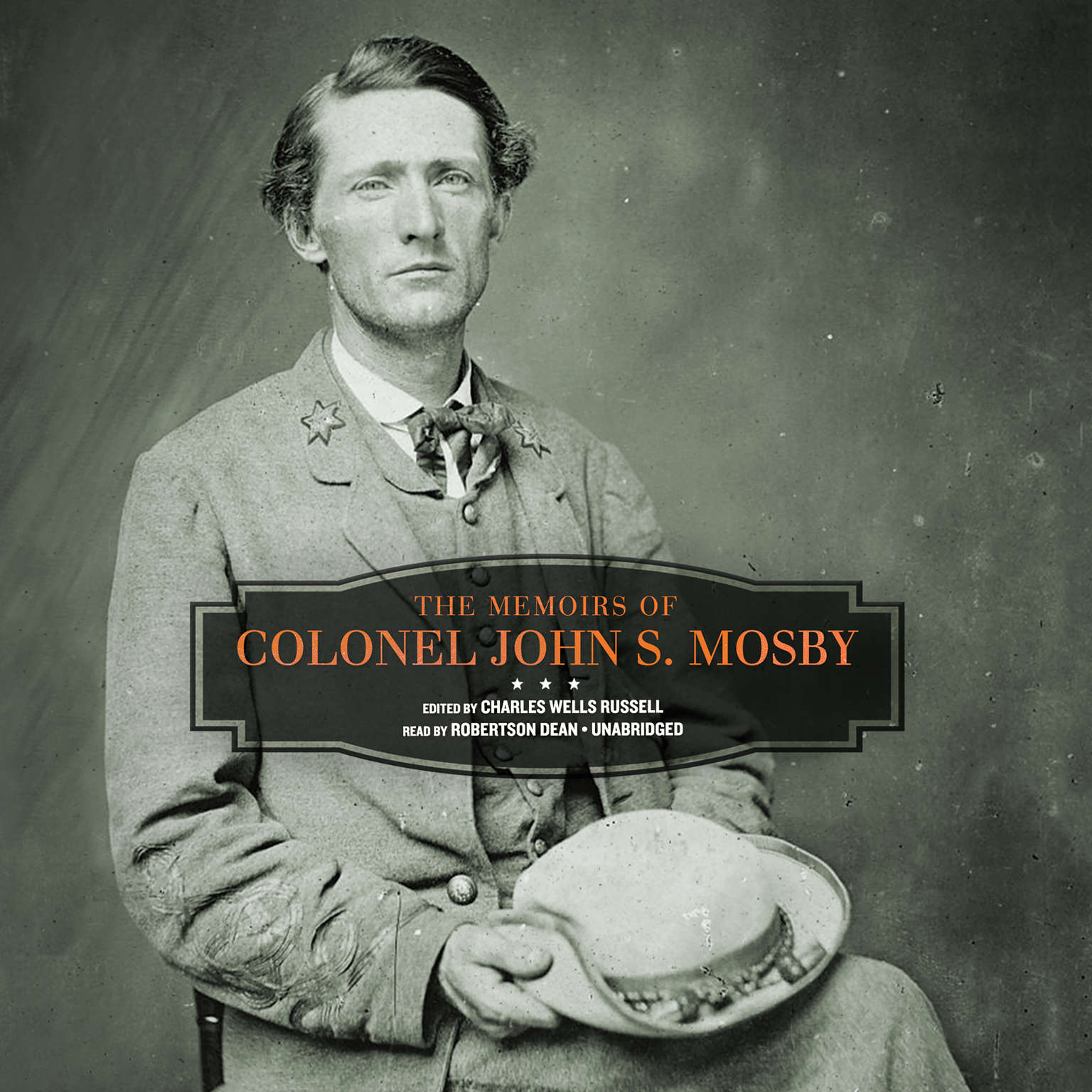 Printable The Memoirs of Colonel John S. Mosby Audiobook Cover Art