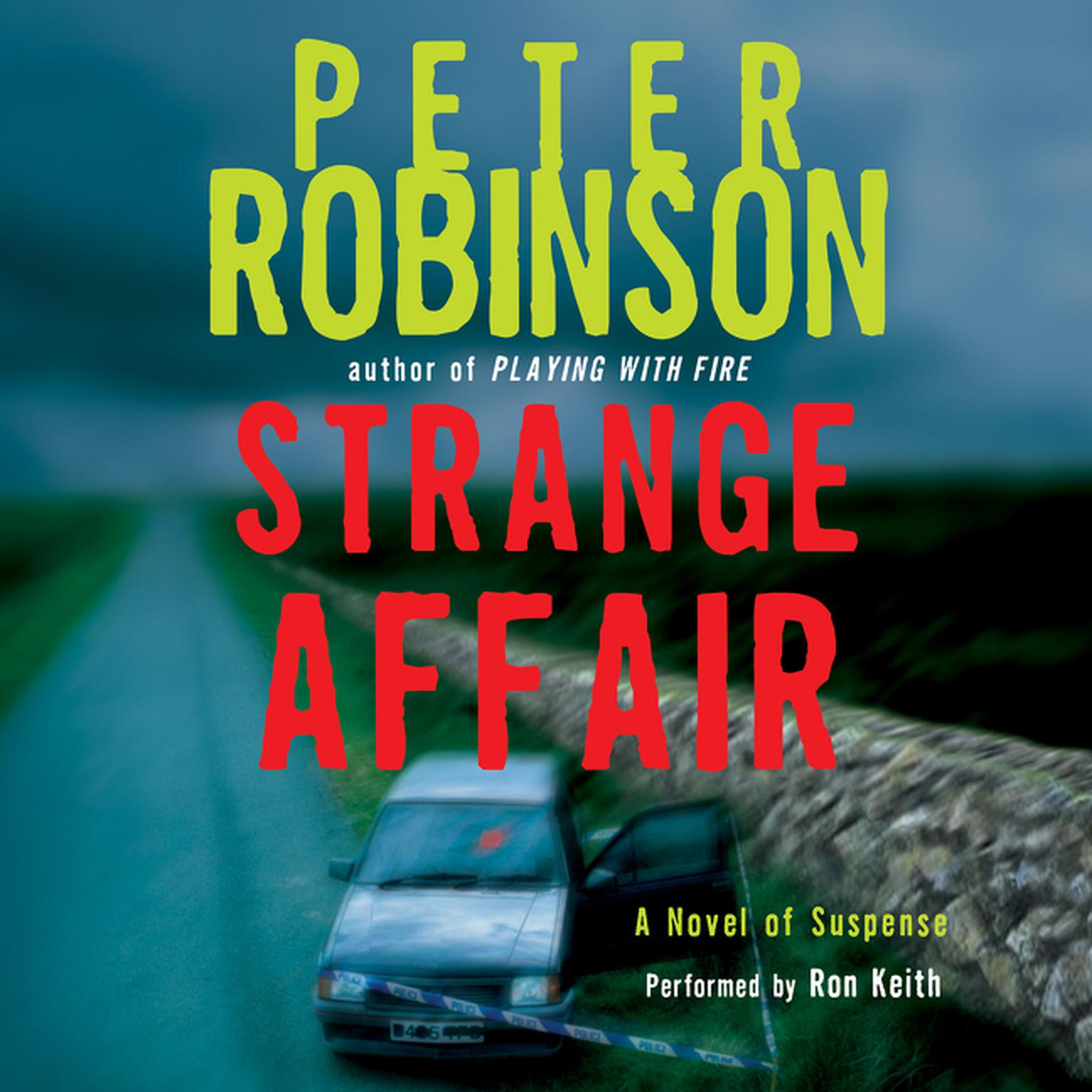 Printable Strange Affair: A Novel of Suspense Audiobook Cover Art