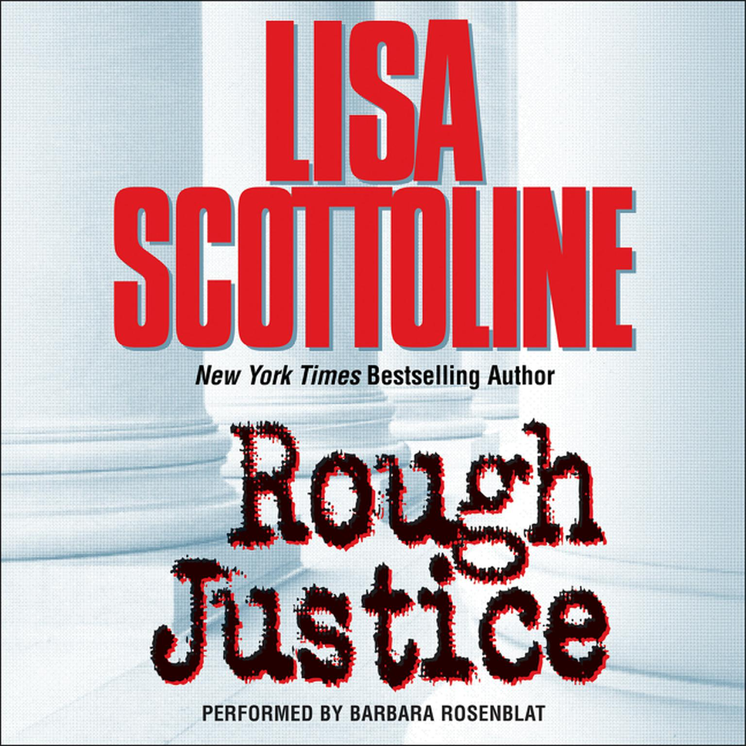 Printable Rough Justice Audiobook Cover Art