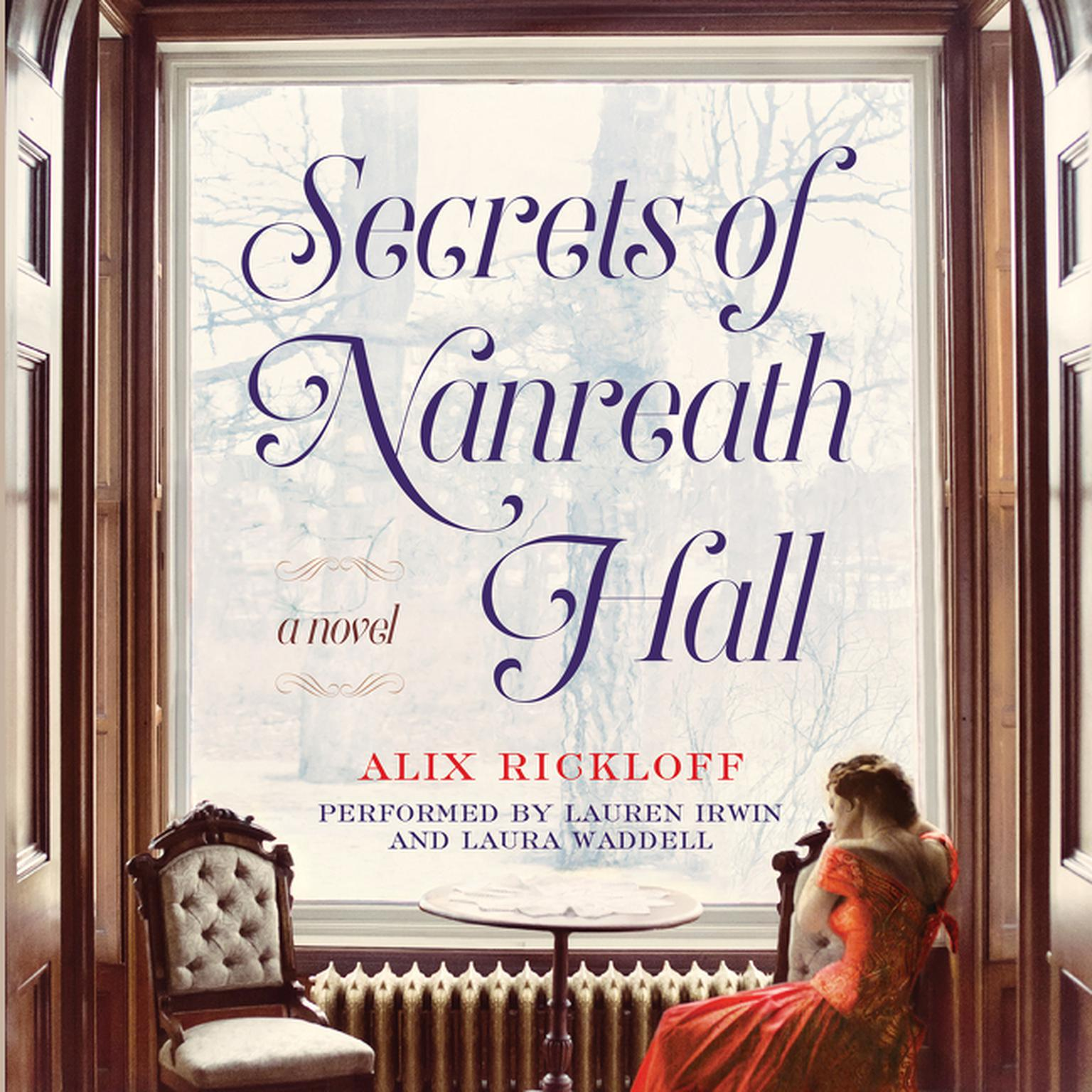 Printable Secrets of Nanreath Hall: A Novel Audiobook Cover Art