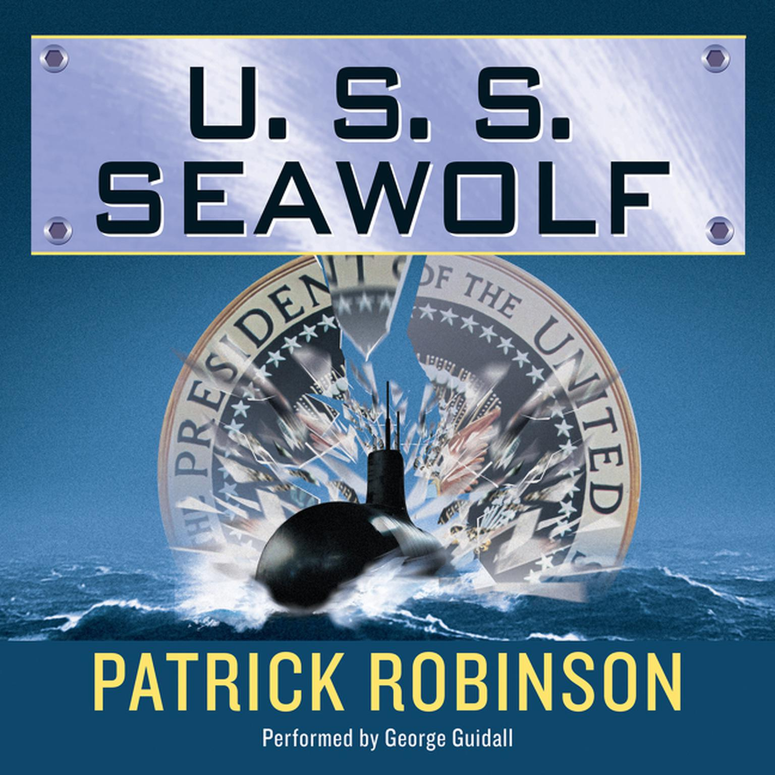 Printable U.S.S. Seawolf Audiobook Cover Art
