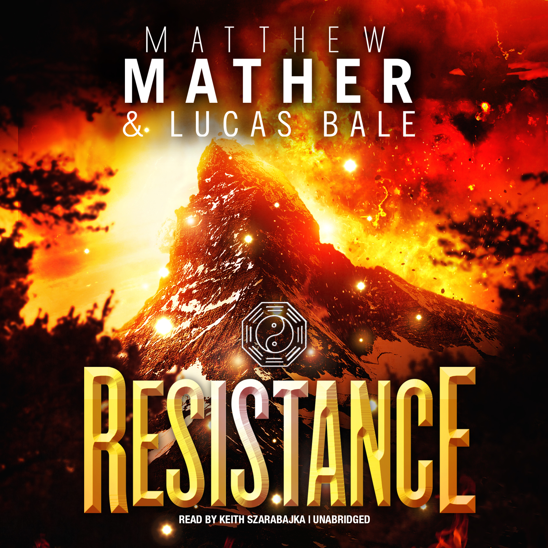 Printable Resistance Audiobook Cover Art