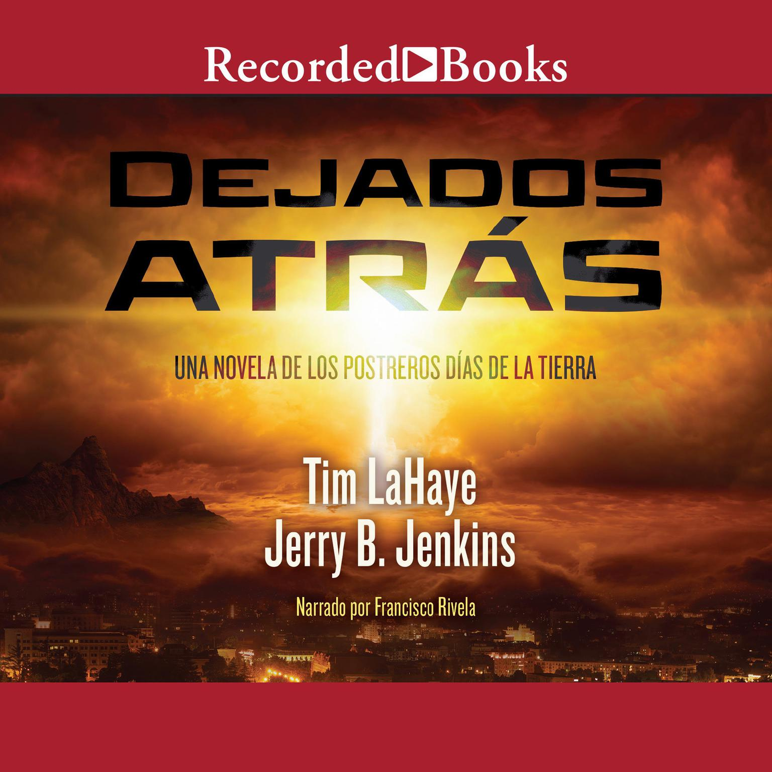 Printable Dejados atrás Audiobook Cover Art