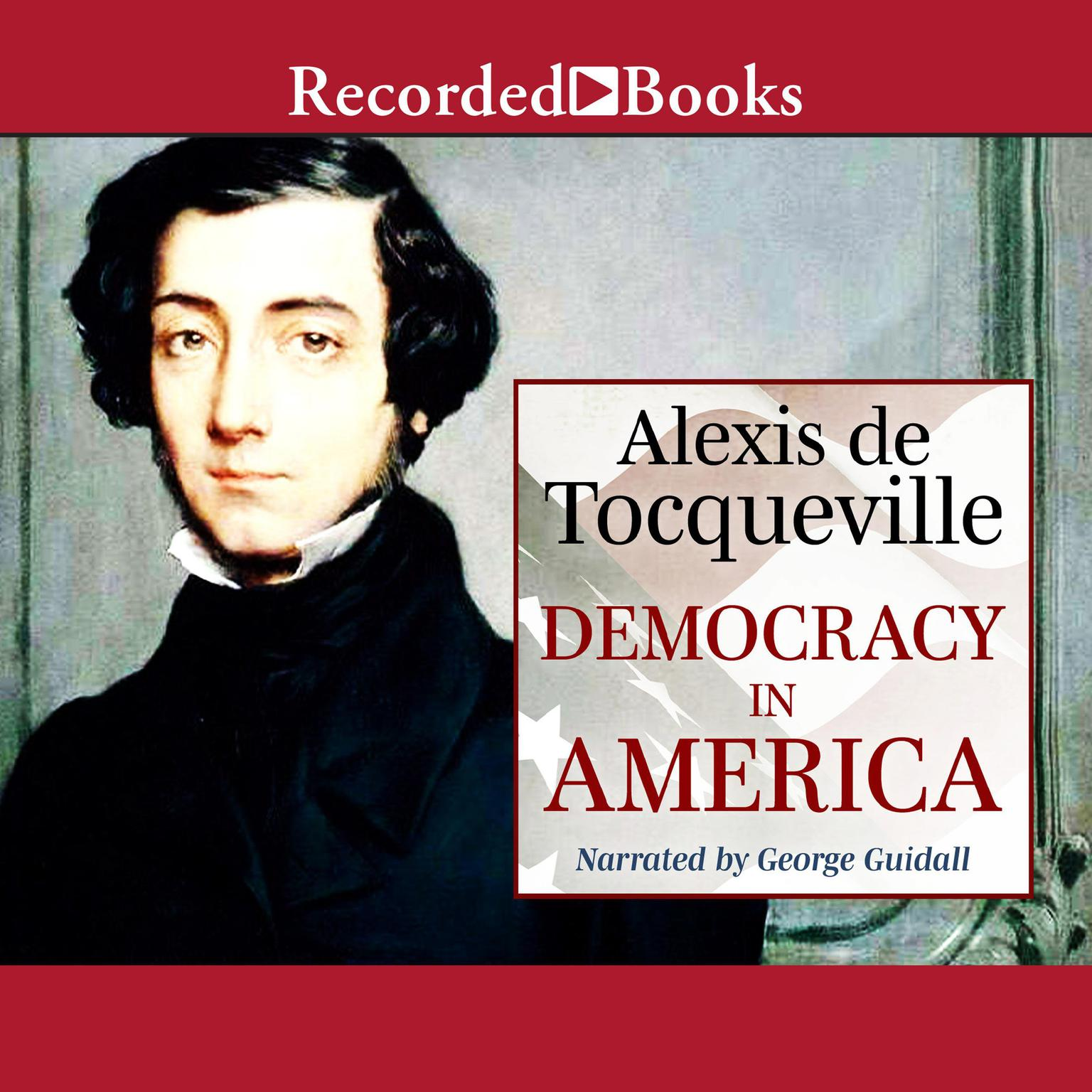 Printable Democracy in America Audiobook Cover Art