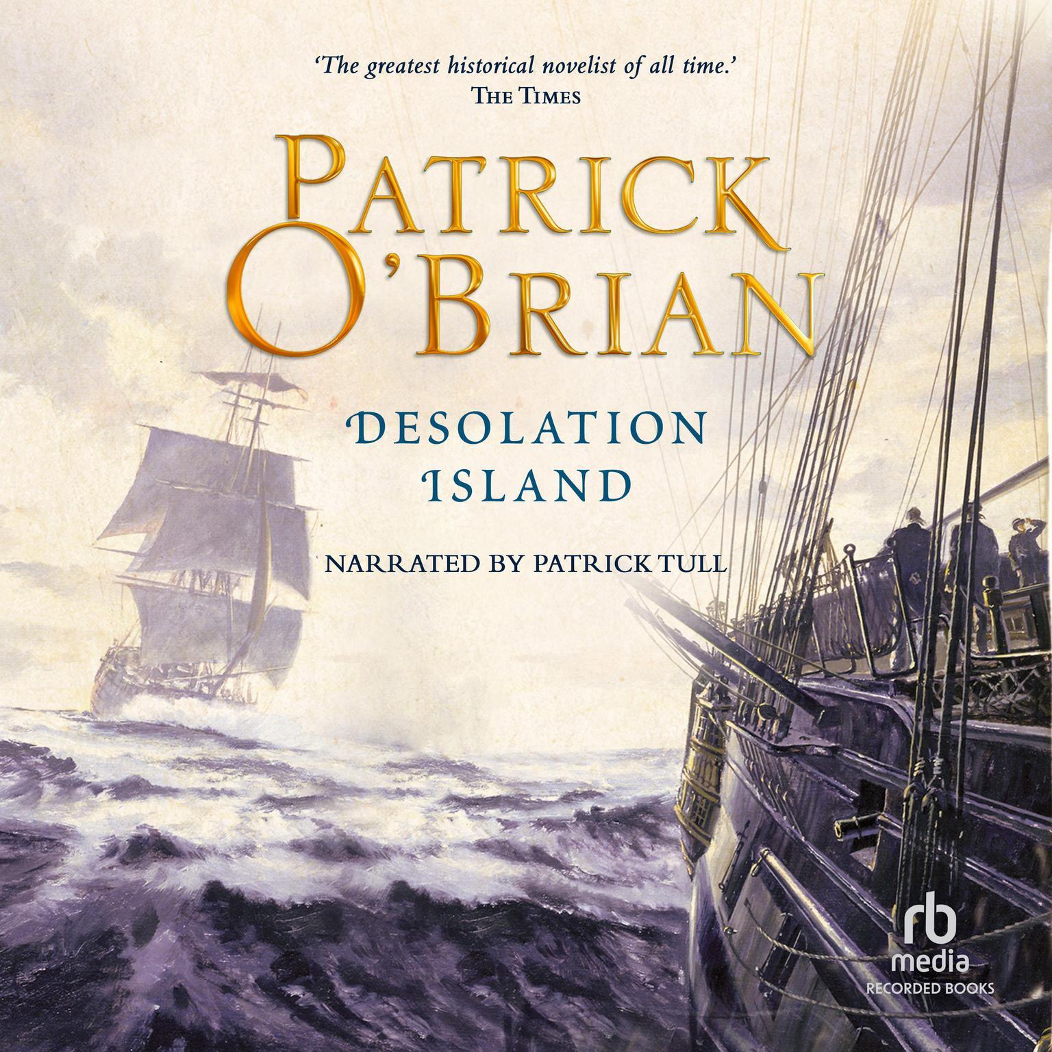Desolation Island Audiobook, by Patrick O'Brian