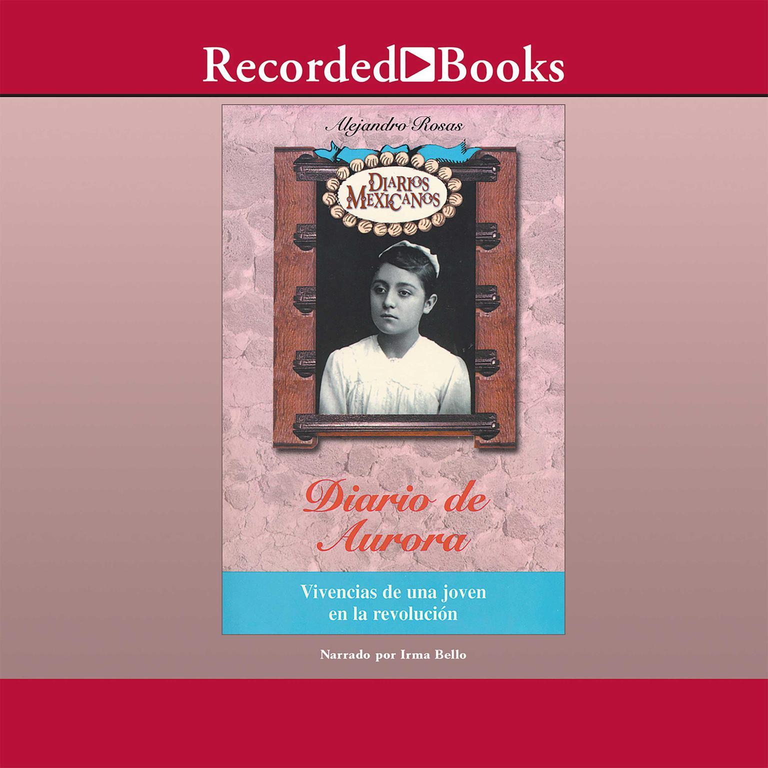 Printable Diario de Aurora Audiobook Cover Art
