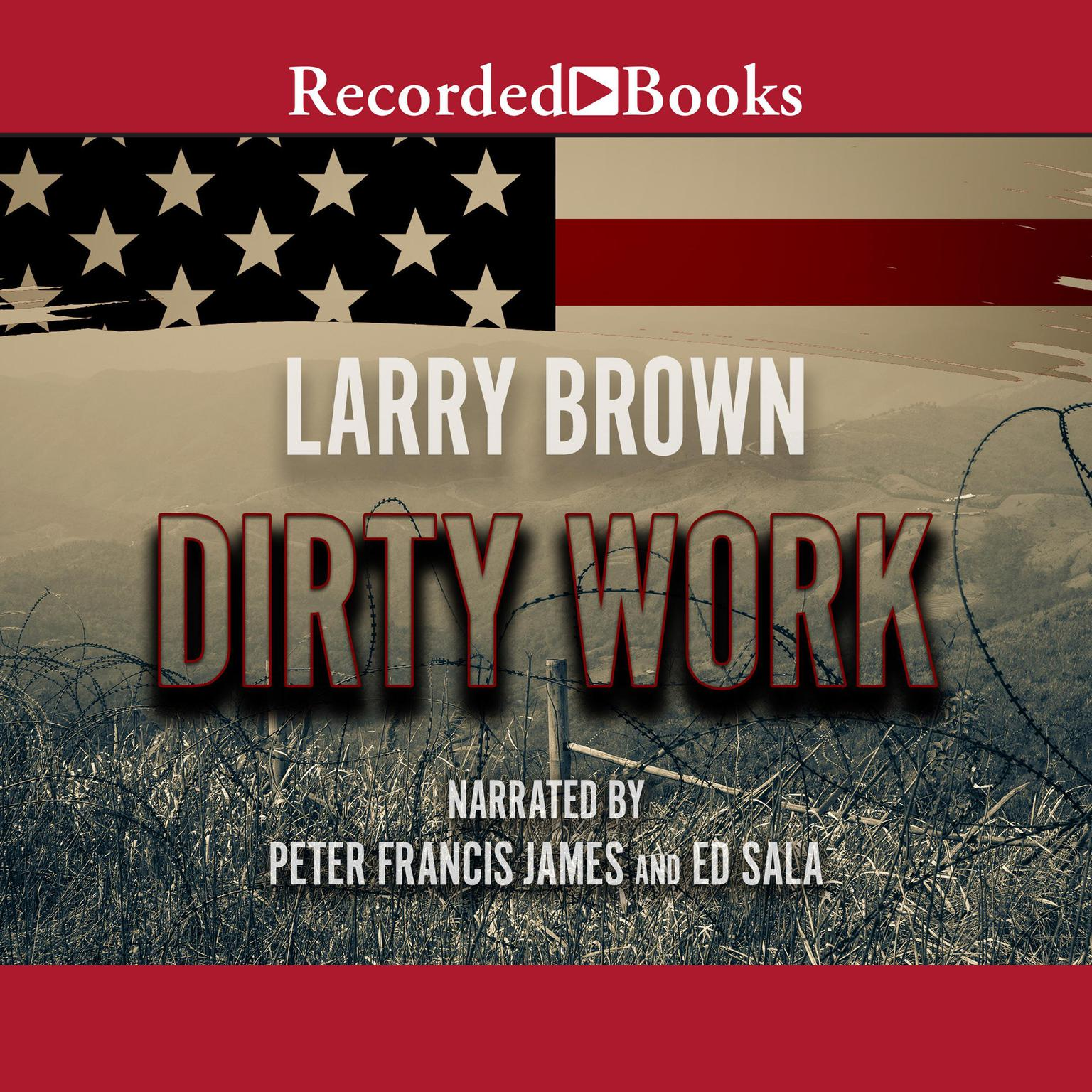 Printable Dirty Work Audiobook Cover Art