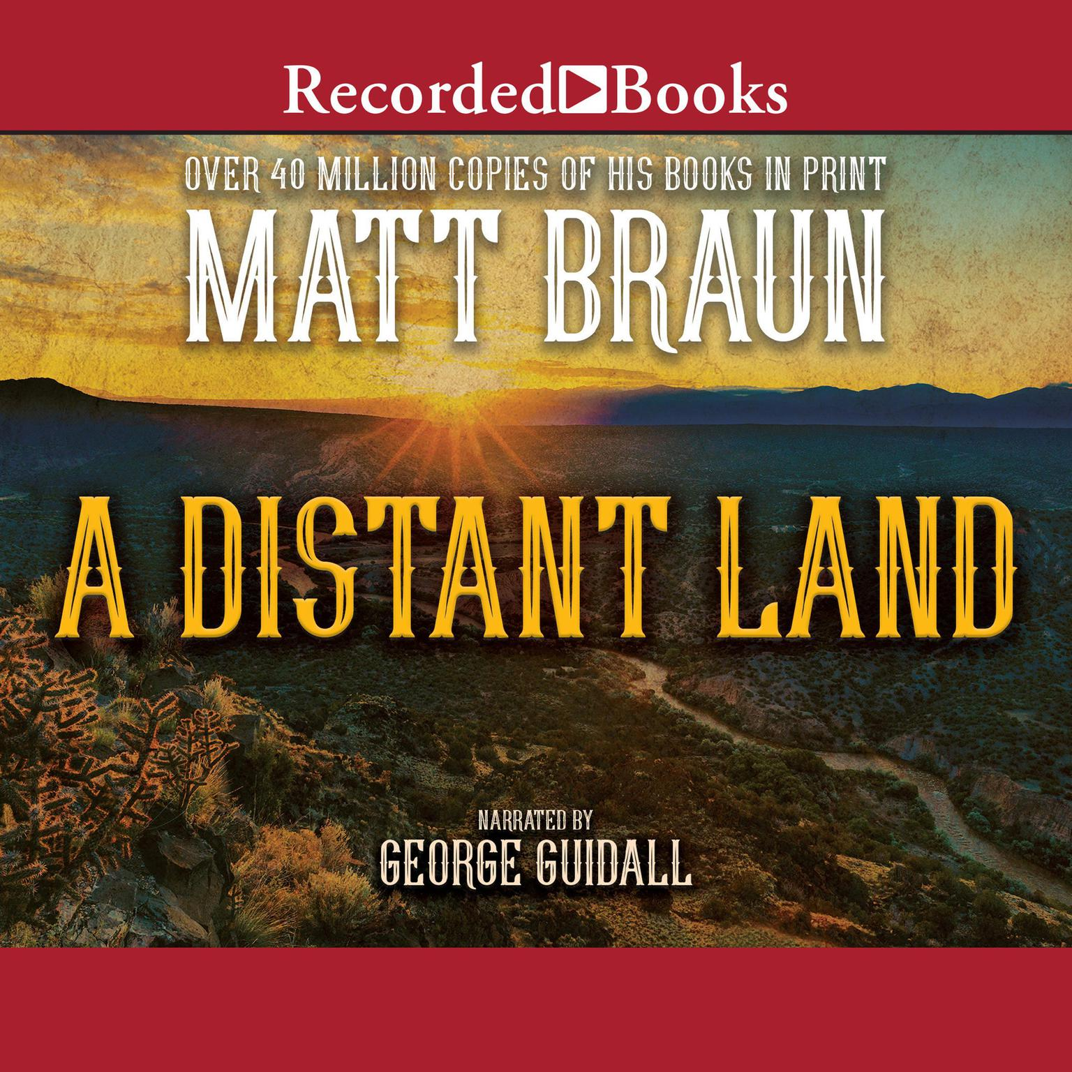 Printable A Distant Land Audiobook Cover Art