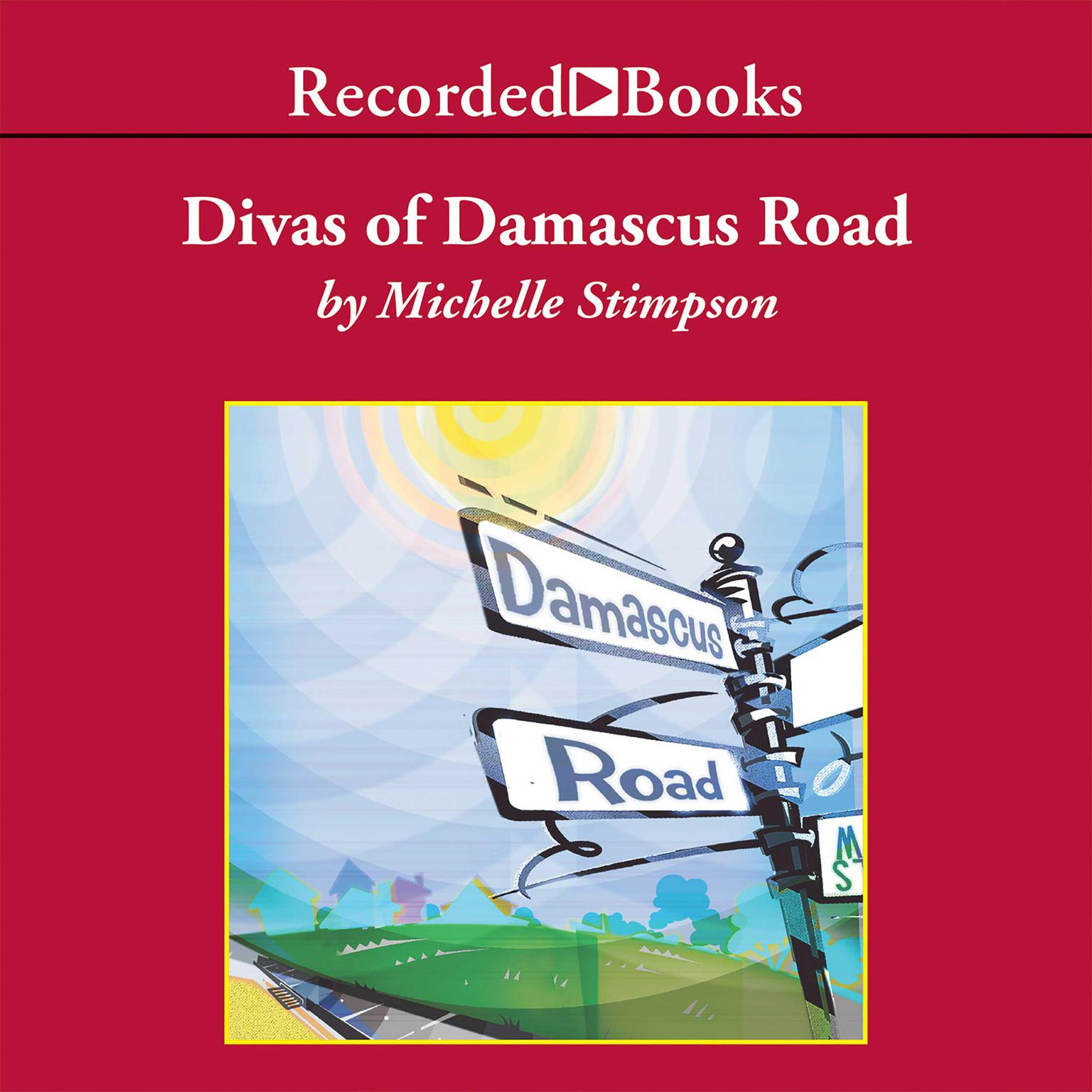 Printable Divas of Damascus Road Audiobook Cover Art