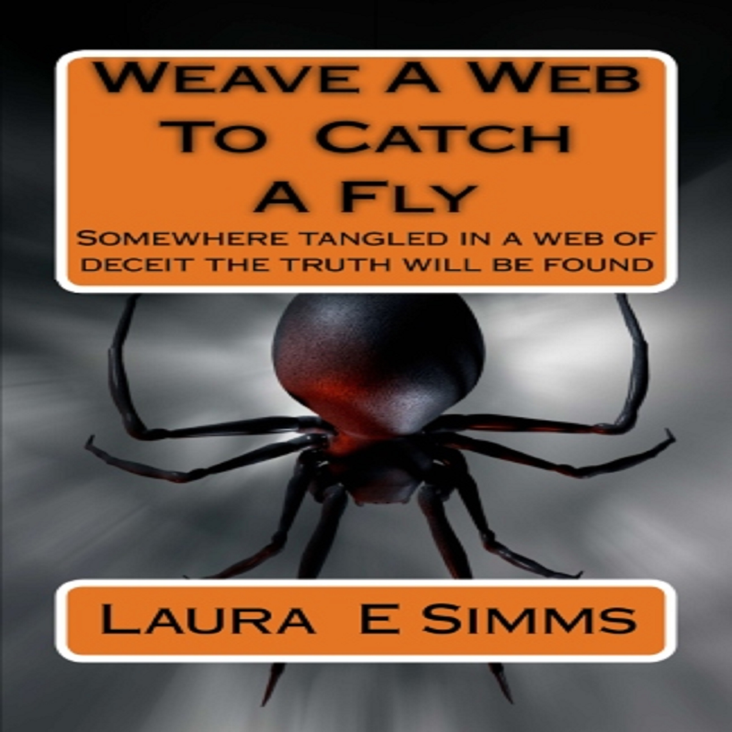 Printable Weave A Web to Catch A Fly Audiobook Cover Art
