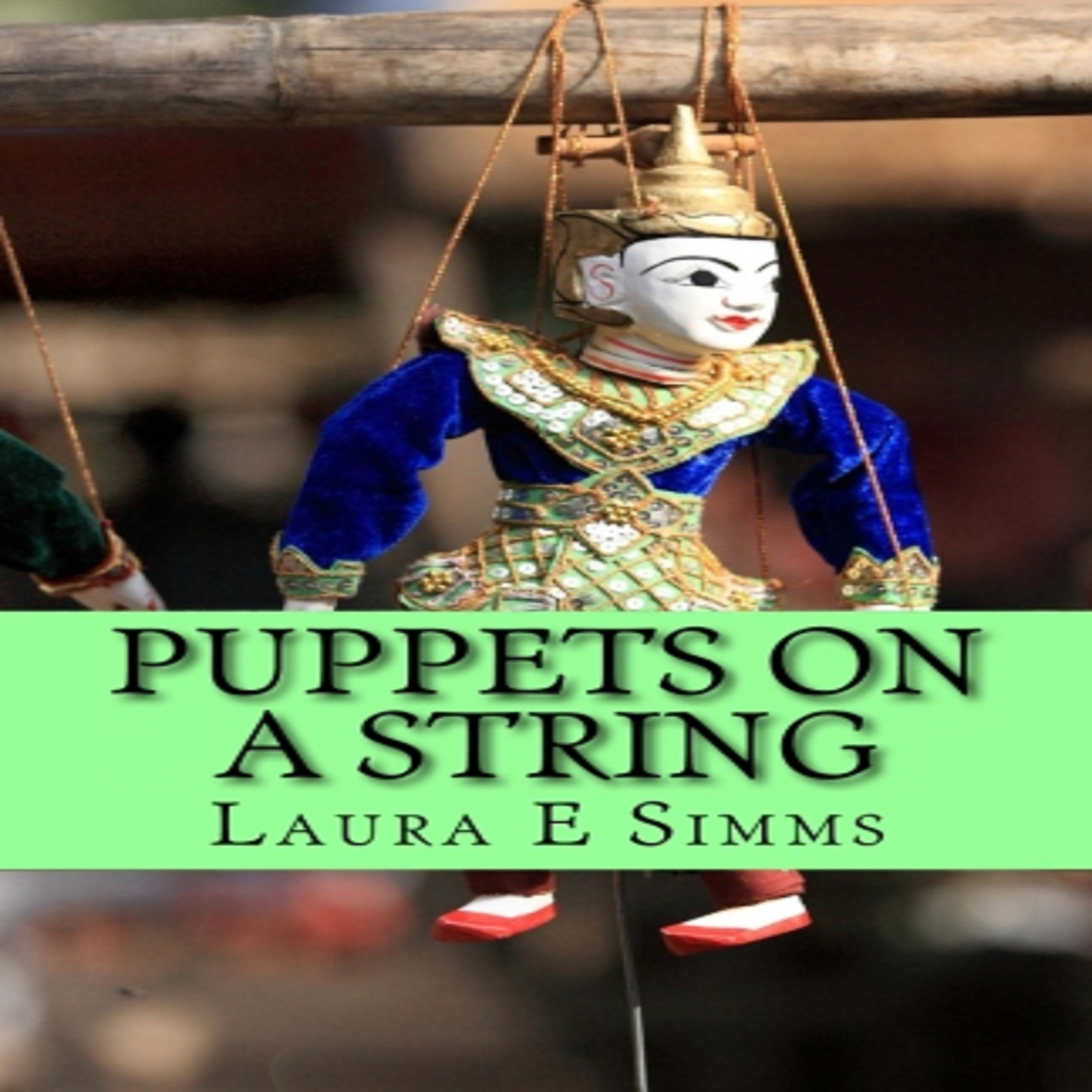 Printable Puppets on A String Audiobook Cover Art