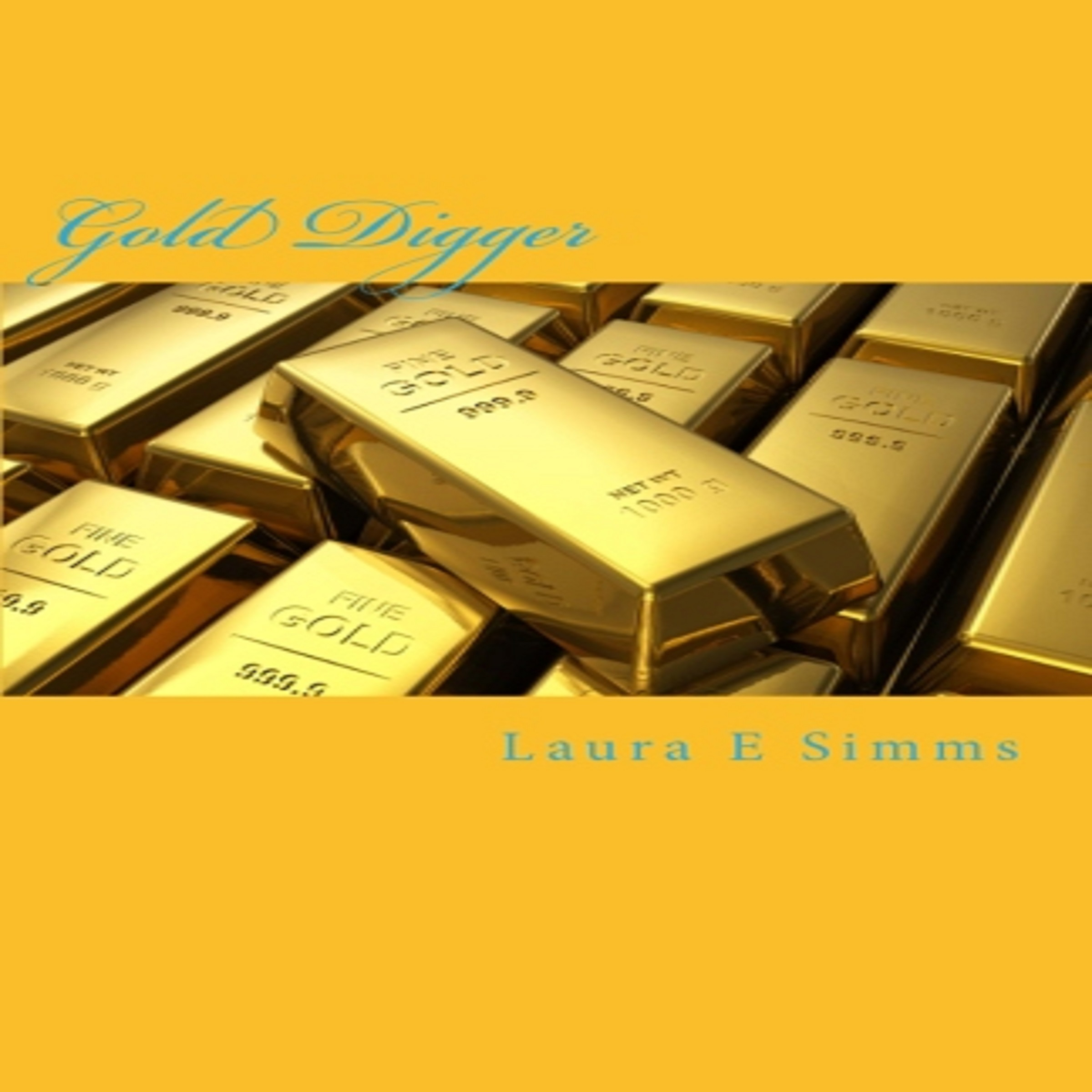 Printable Gold Digger Audiobook Cover Art