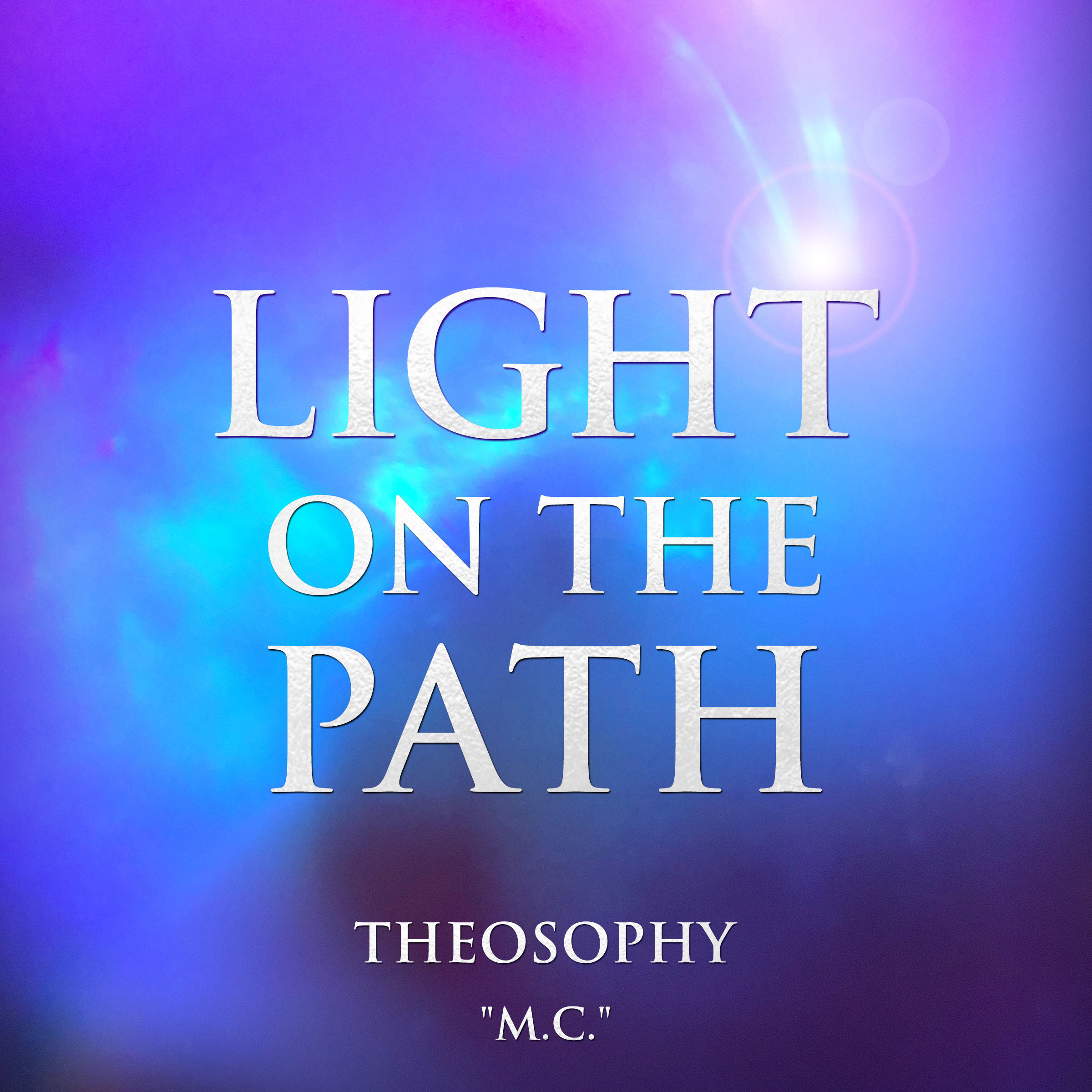 Printable Light on the Path: Theosophy Audiobook Cover Art