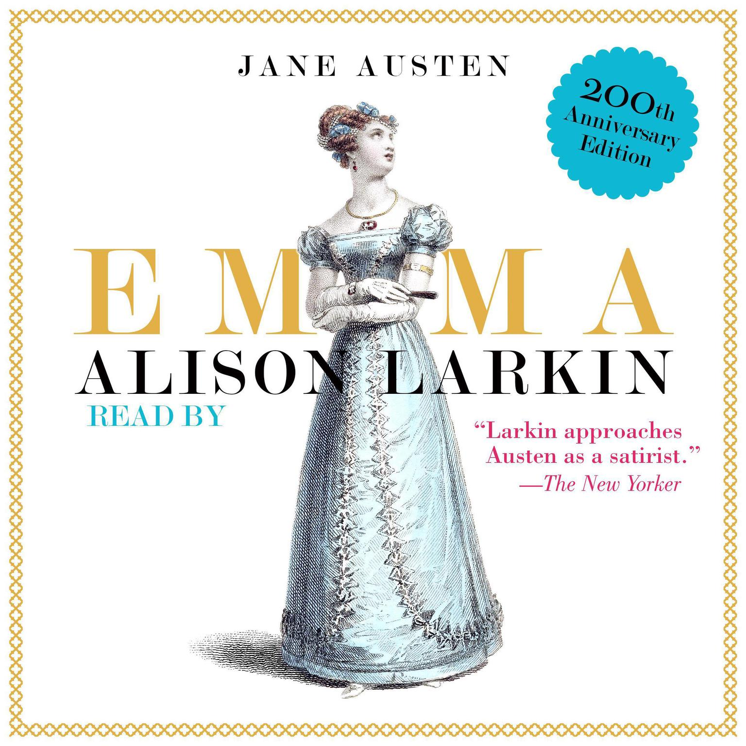 Printable Emma: The 200th Anniversary Audio Edition Audiobook Cover Art