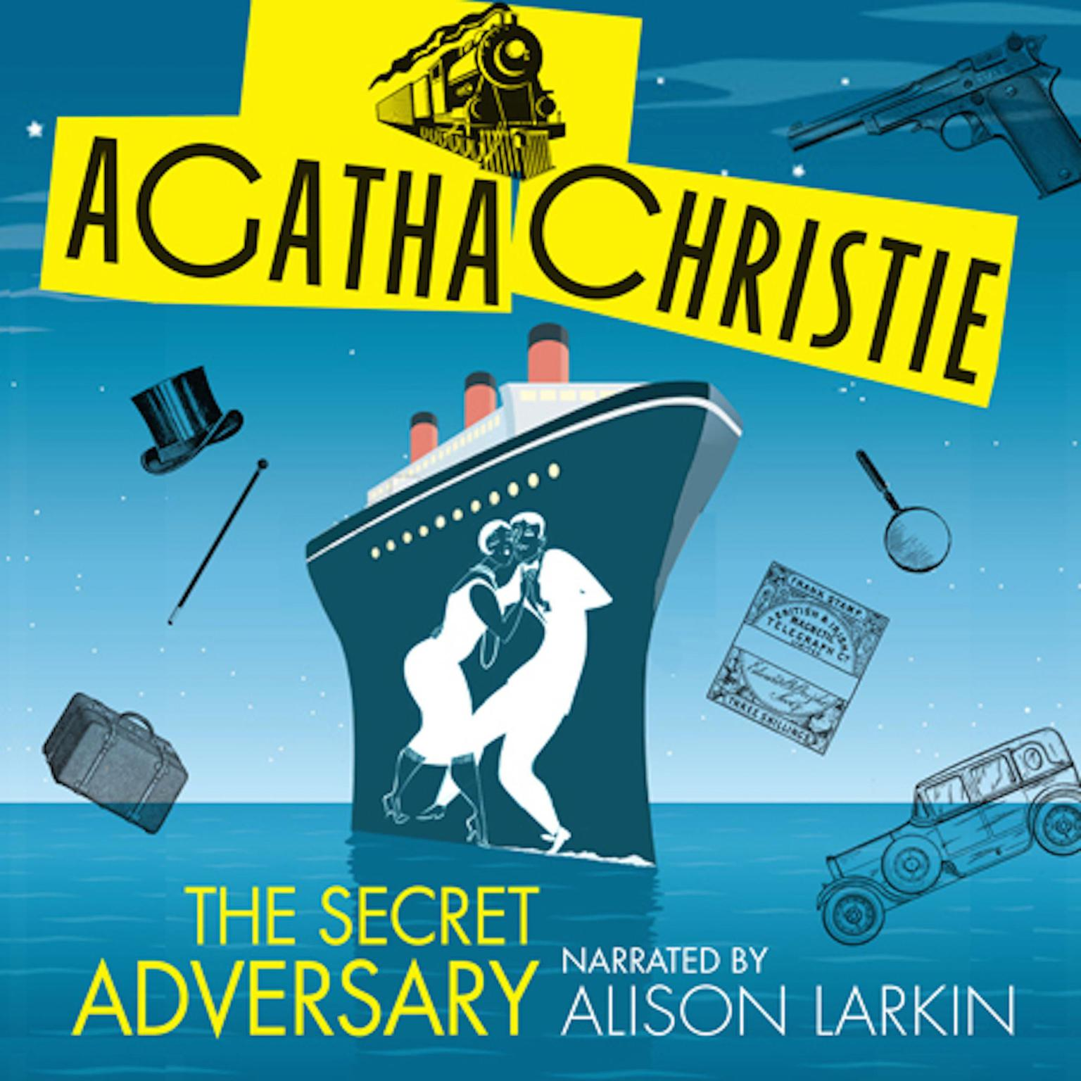 Printable The Secret Adversary Audiobook Cover Art