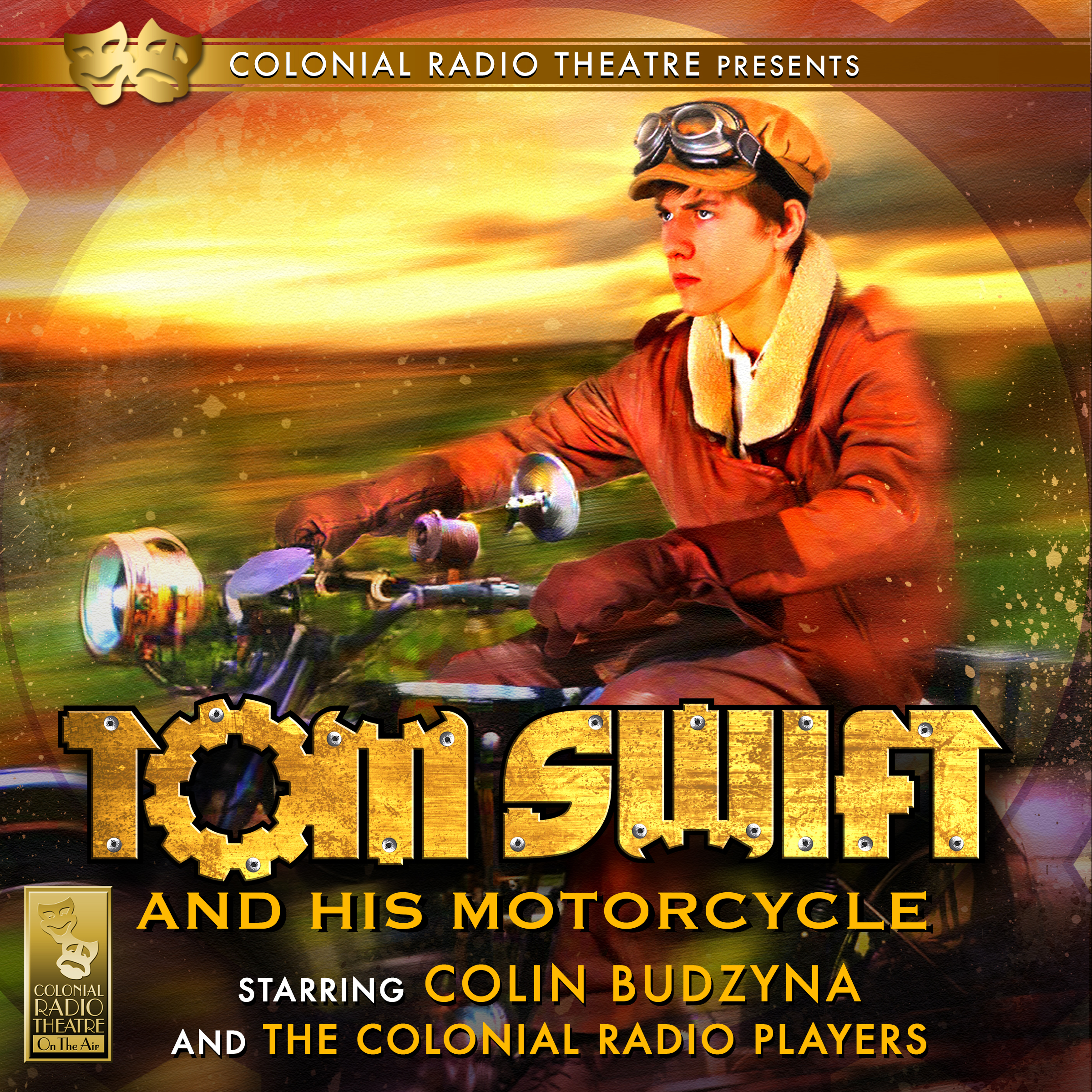 Printable Tom Swift and His Motorcycle Audiobook Cover Art