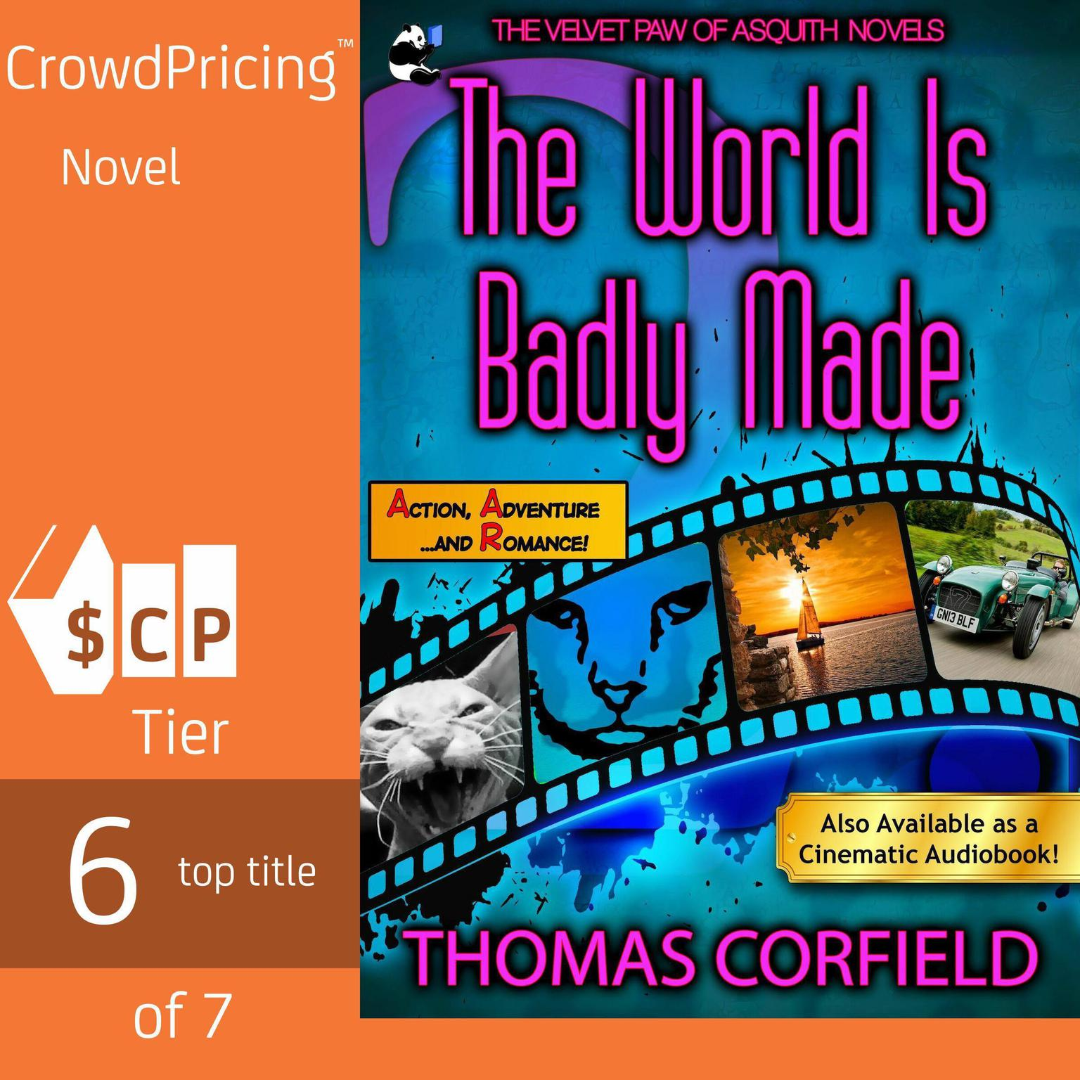 Printable The World Is Badly Made Audiobook Cover Art