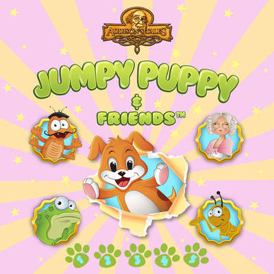 Jumpy Puppy - The First Five Tales Audiobook, by Cornelius Addison