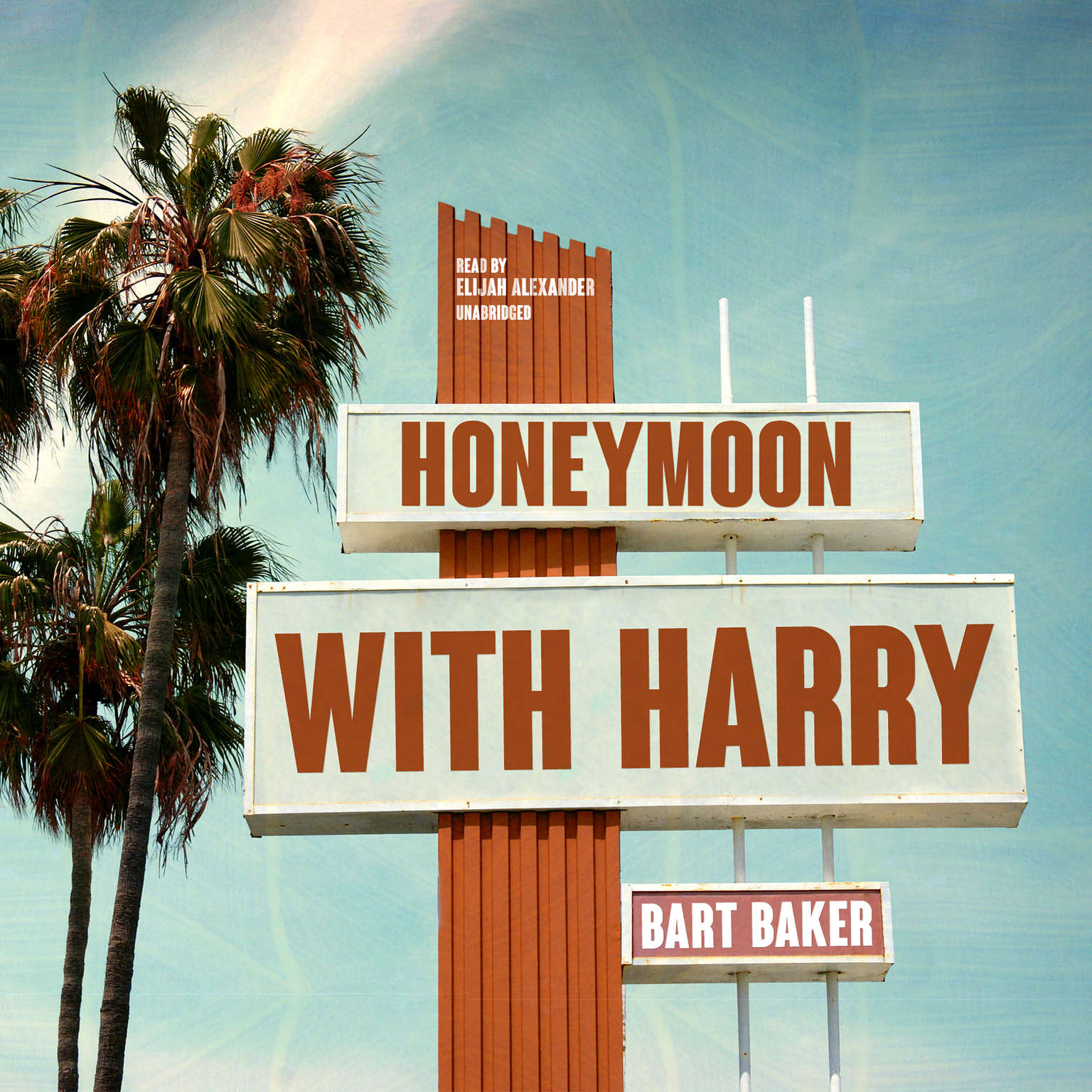 Printable Honeymoon with Harry Audiobook Cover Art