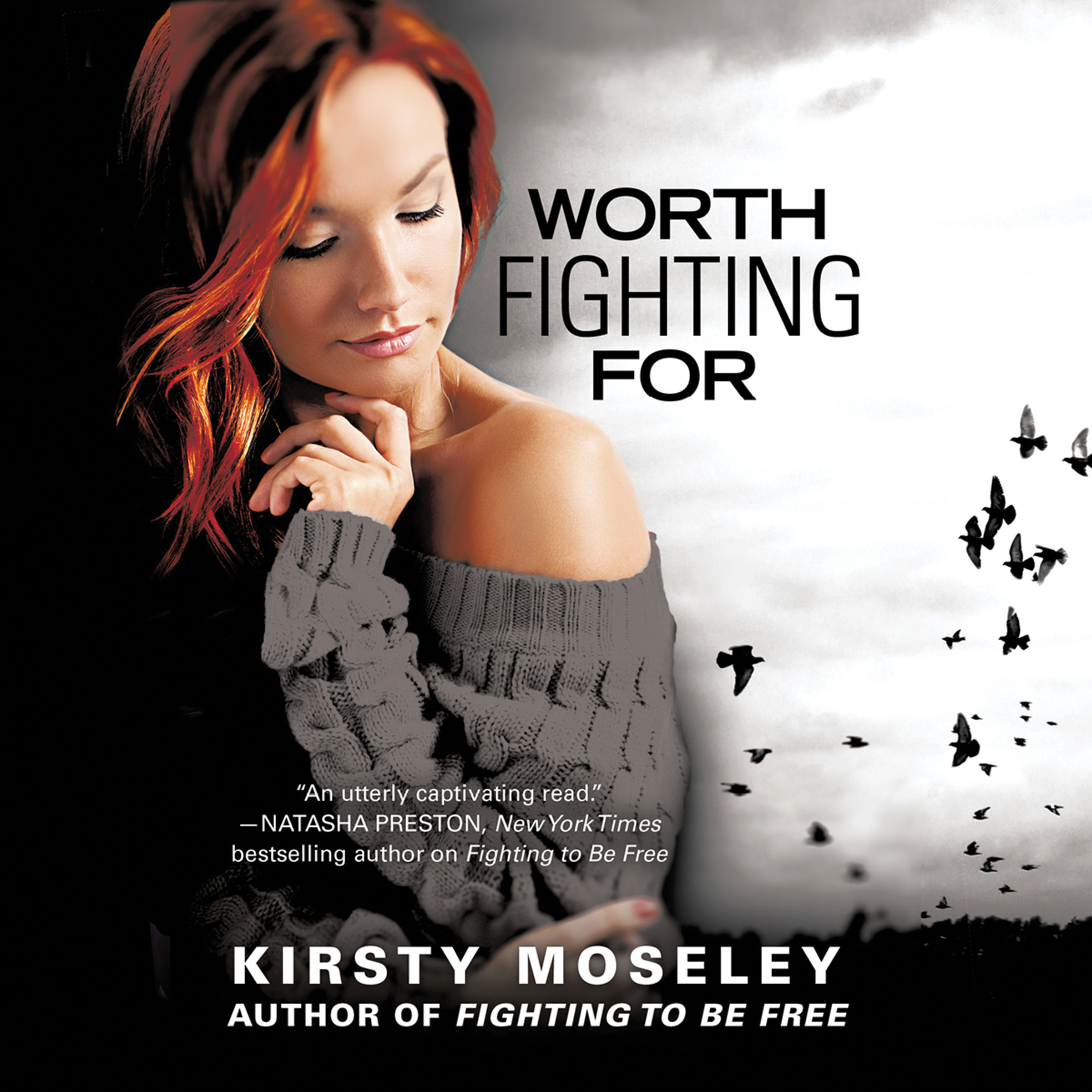 Printable Worth Fighting For Audiobook Cover Art